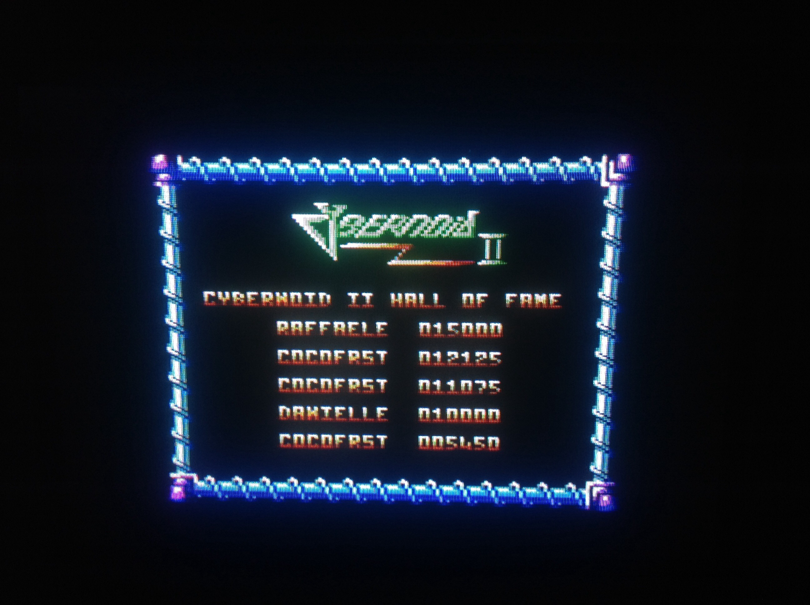 CoCoForest: Cybernoid 2 (Amstrad CPC) 12,125 points on 2015-05-05 14:55:21