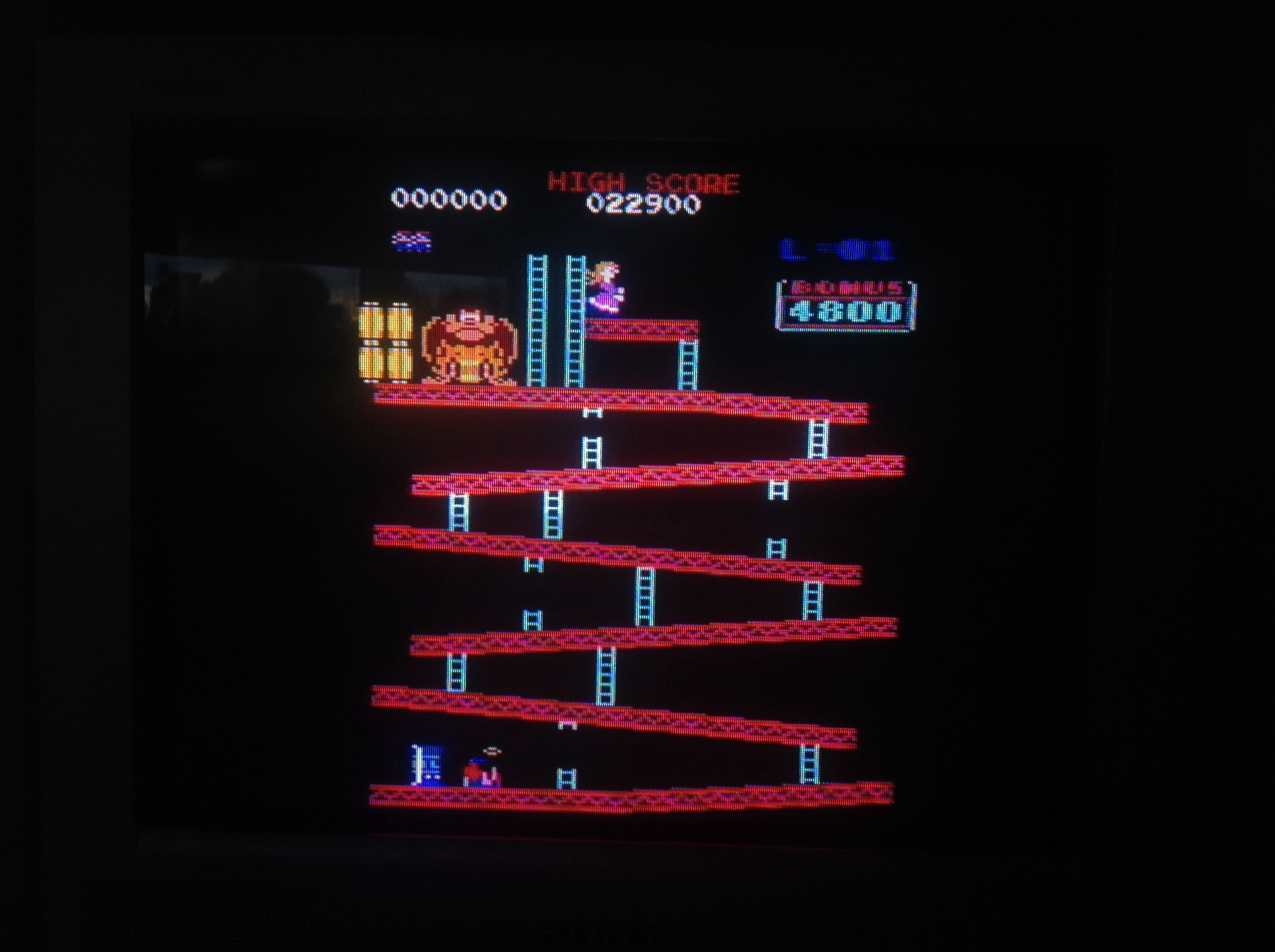 CoCoForest: Donkey Kong (Amstrad CPC) 22,900 points on 2015-05-06 14:12:48