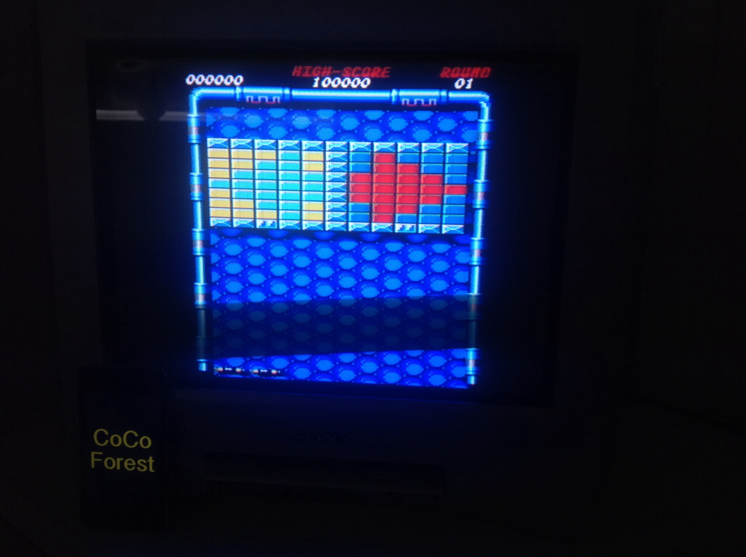 CoCoForest: Arkanoid: Revenge of Doh (Amstrad CPC) 66,840 points on 2015-05-07 04:45:10
