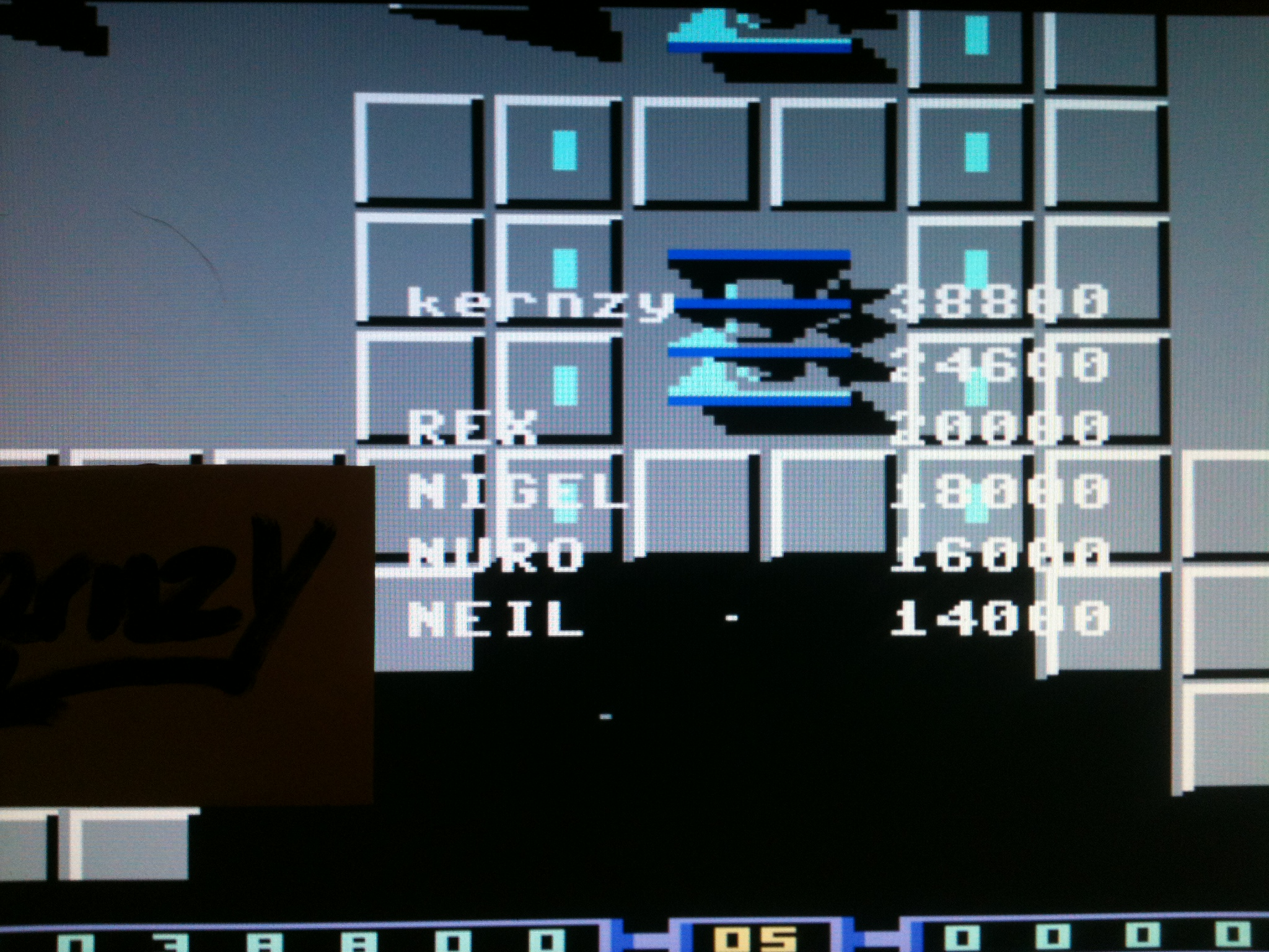 kernzy: Bedlam (Commodore 64 Emulated) 38,800 points on 2015-05-07 14:41:50