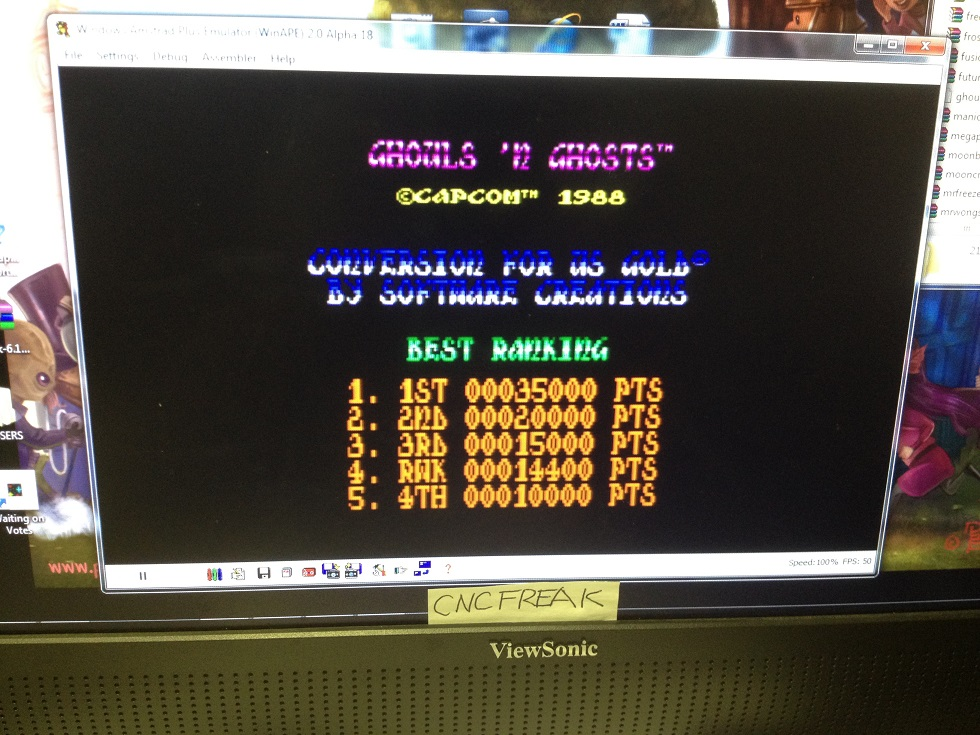 Ghouls N Ghosts 14,400 points