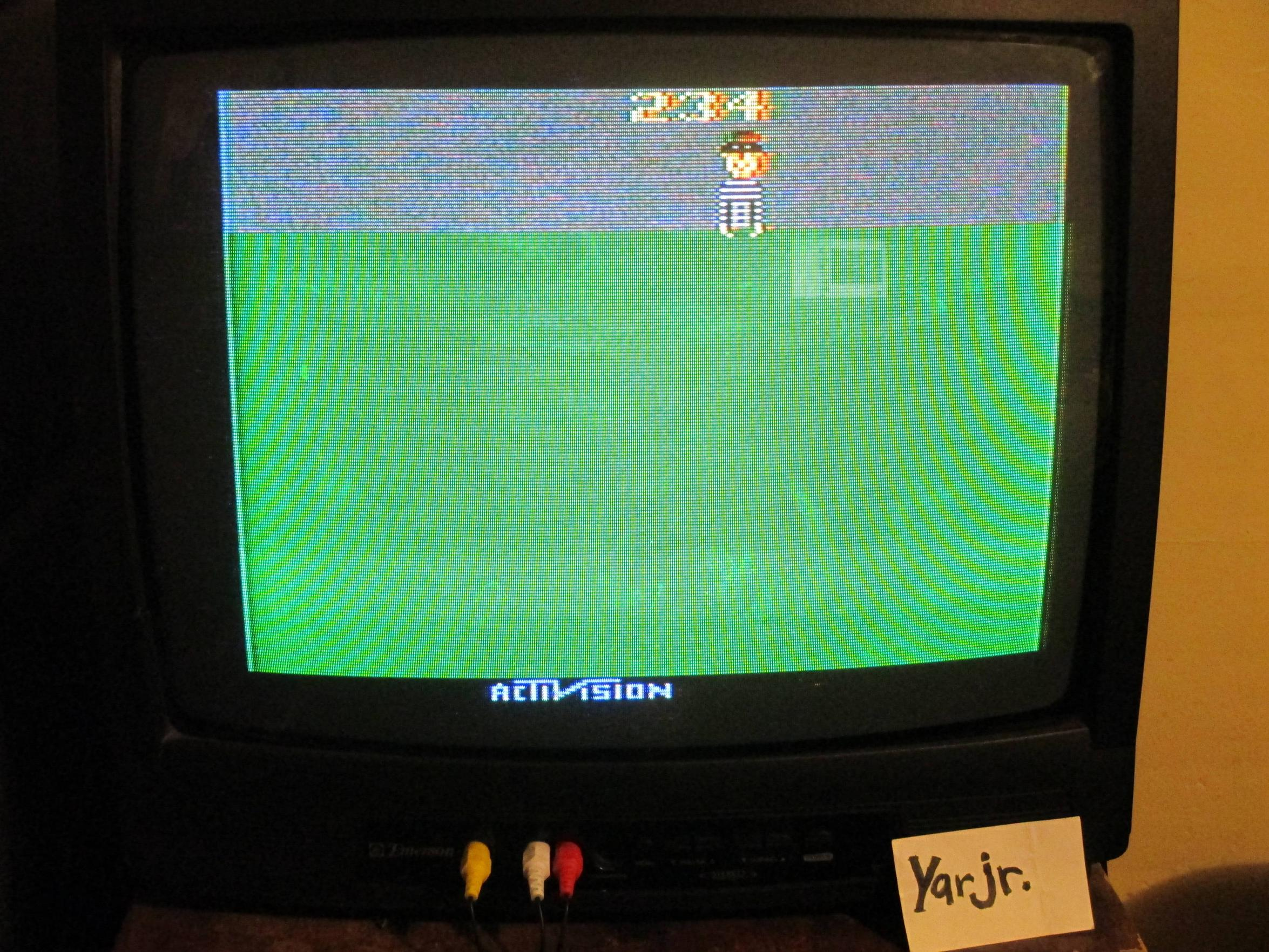 yarjr: Kaboom! (Atari 2600 Expert/A) 234 points on 2013-09-13 03:25:10