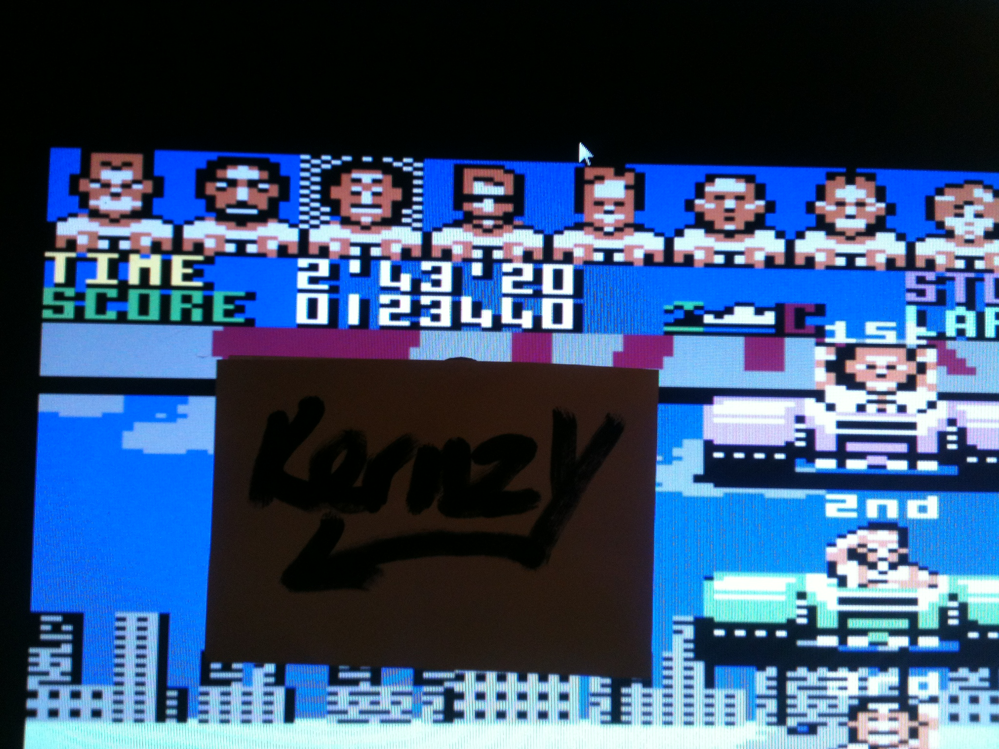 kernzy: Power Drift (Commodore 64 Emulated) 123,440 points on 2015-05-07 19:47:31