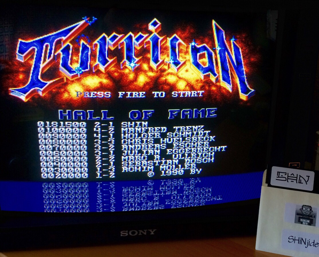 Turrican 181,500 points
