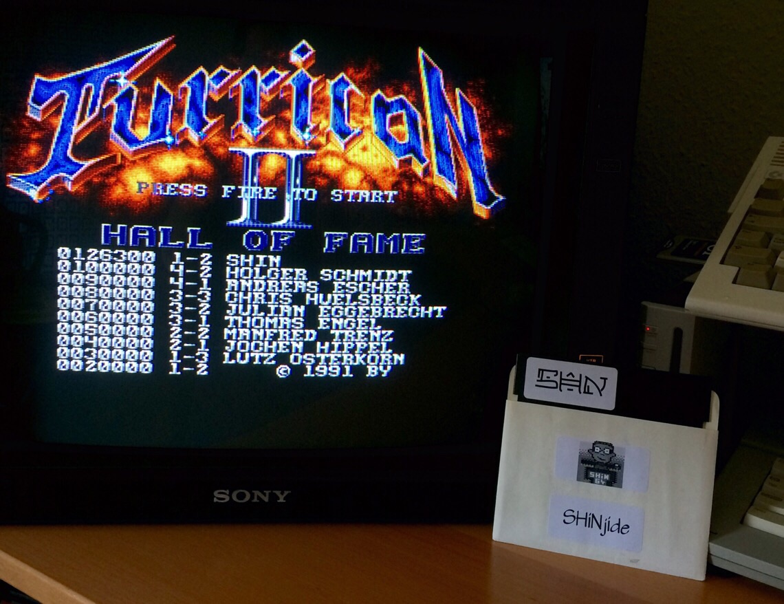 Turrican 2 126,300 points