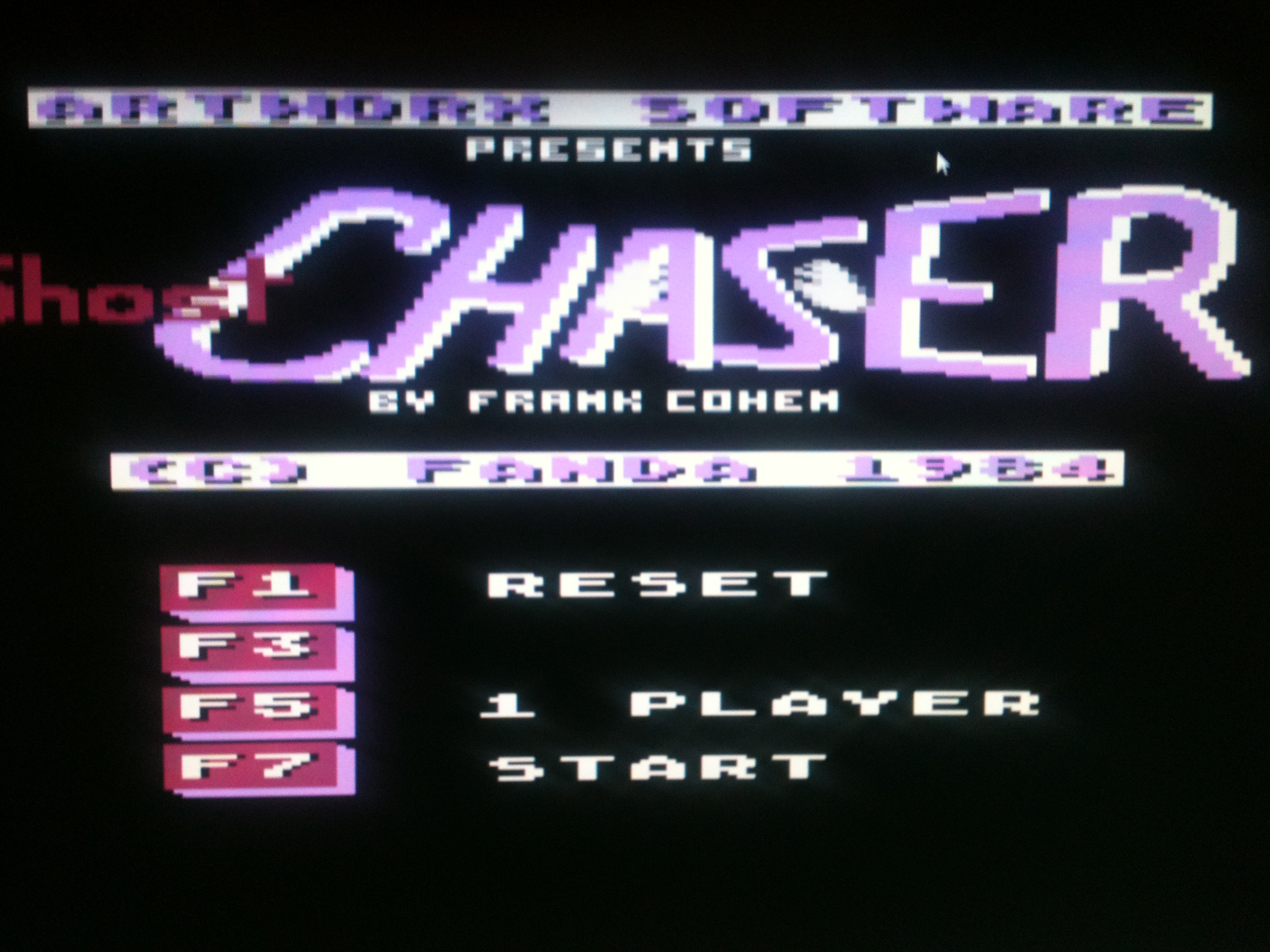 kernzy: Ghost Chaser (Commodore 64 Emulated) 4,100 points on 2015-05-08 09:58:39