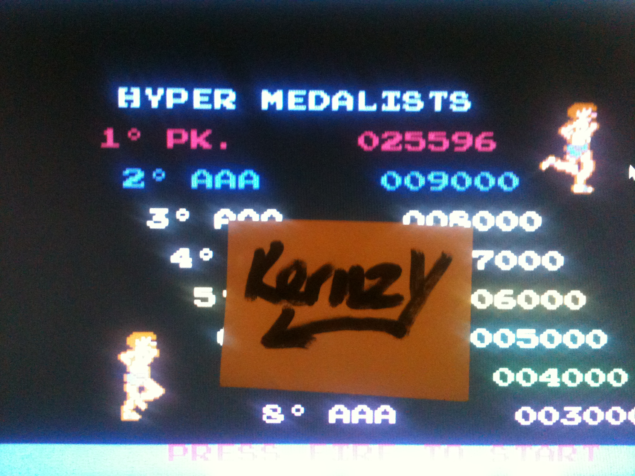 kernzy: Hyper Sports (Commodore 64 Emulated) 25,596 points on 2015-05-08 10:13:05