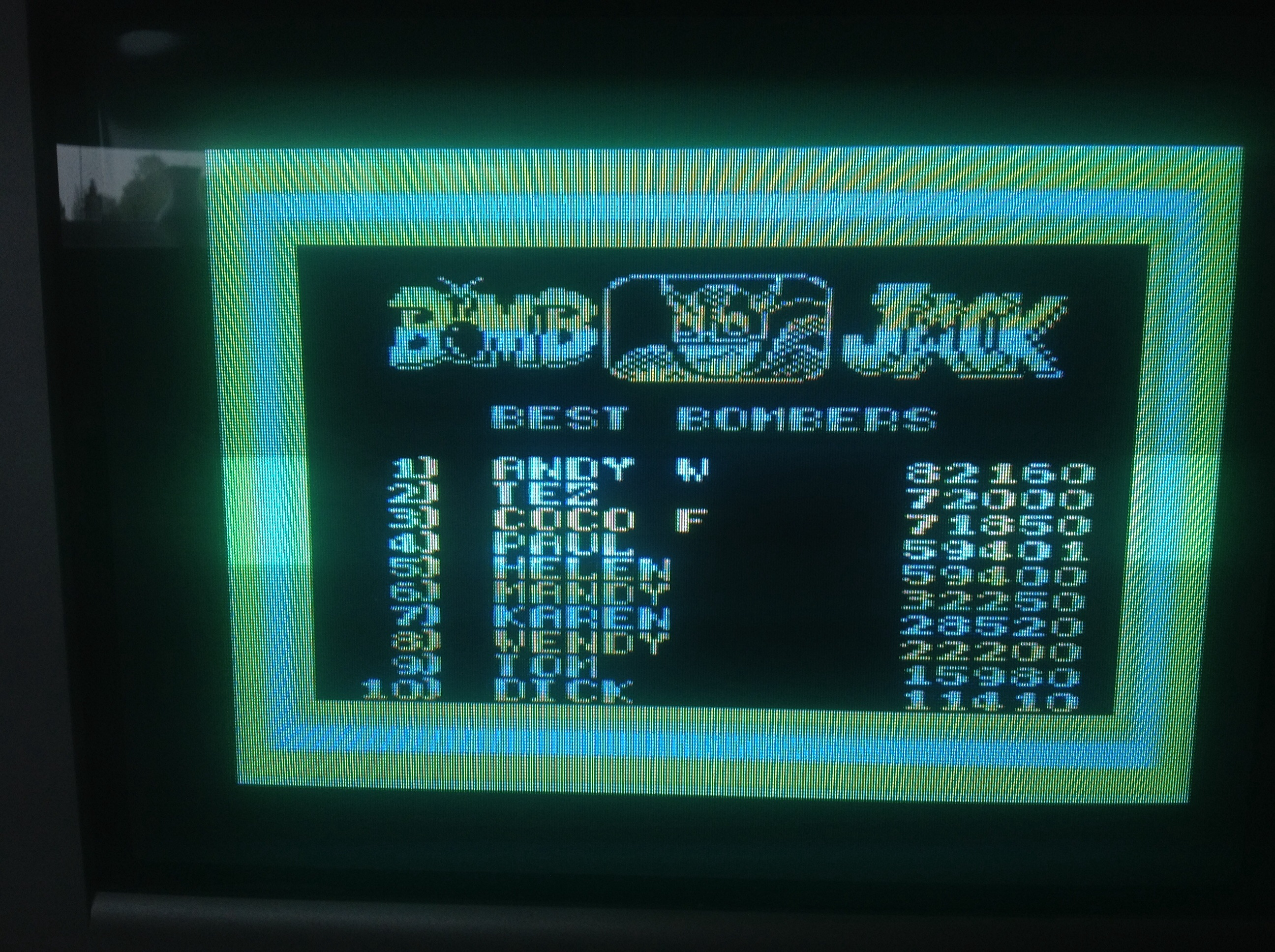 CoCoForest: Bomb Jack (Amstrad CPC) 71,850 points on 2015-05-08 12:22:59