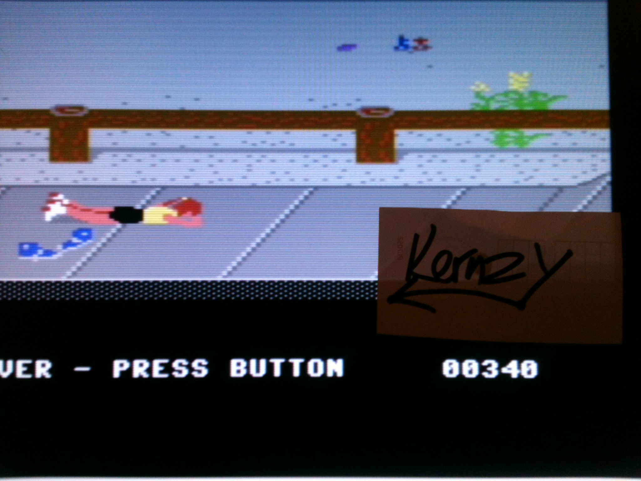 kernzy: California Games: Skating (Commodore 64 Emulated) 340 points on 2015-05-08 15:20:51