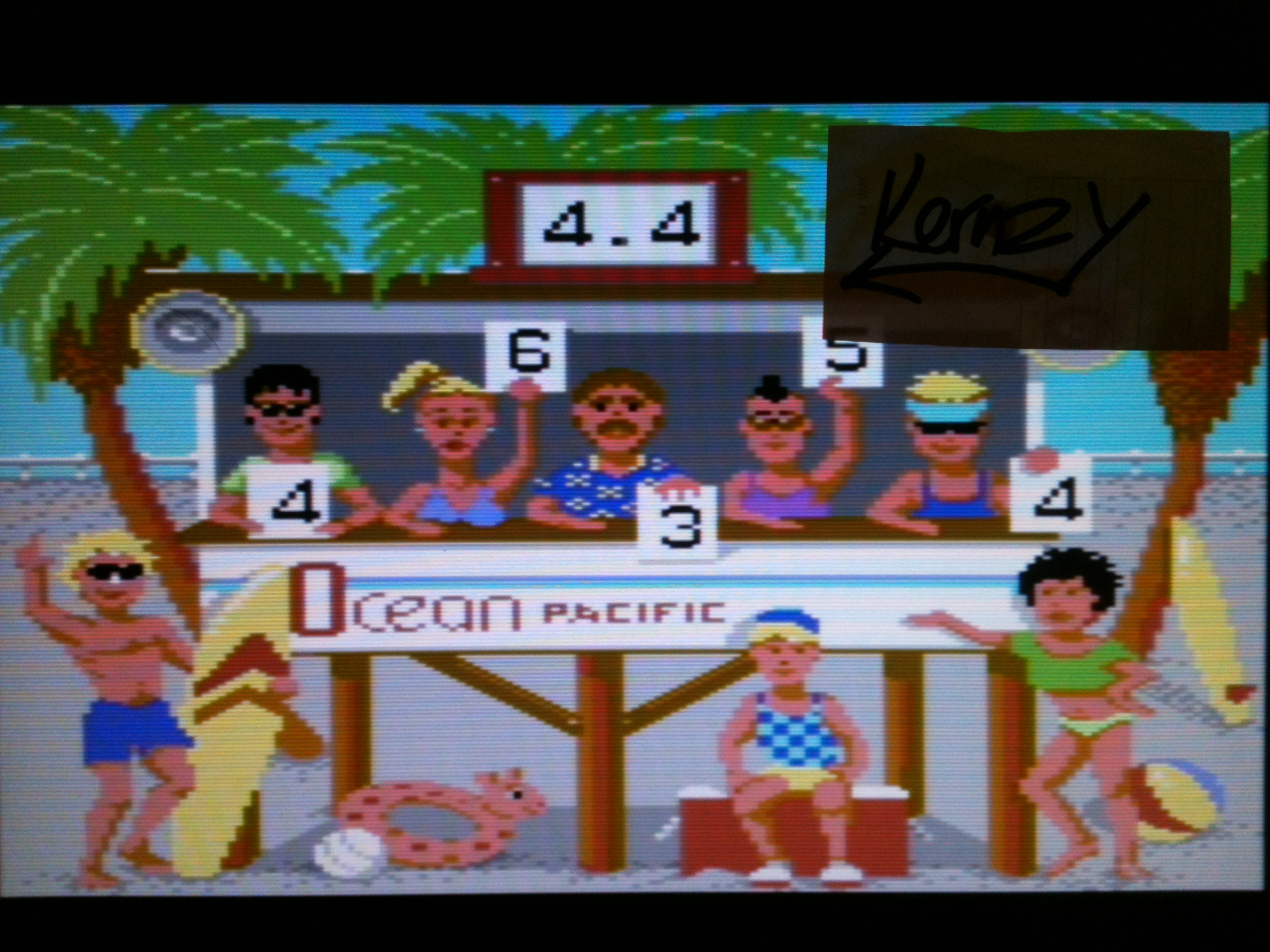 kernzy: California Games: Surfing (Commodore 64 Emulated) 4 points on 2015-05-08 15:36:28
