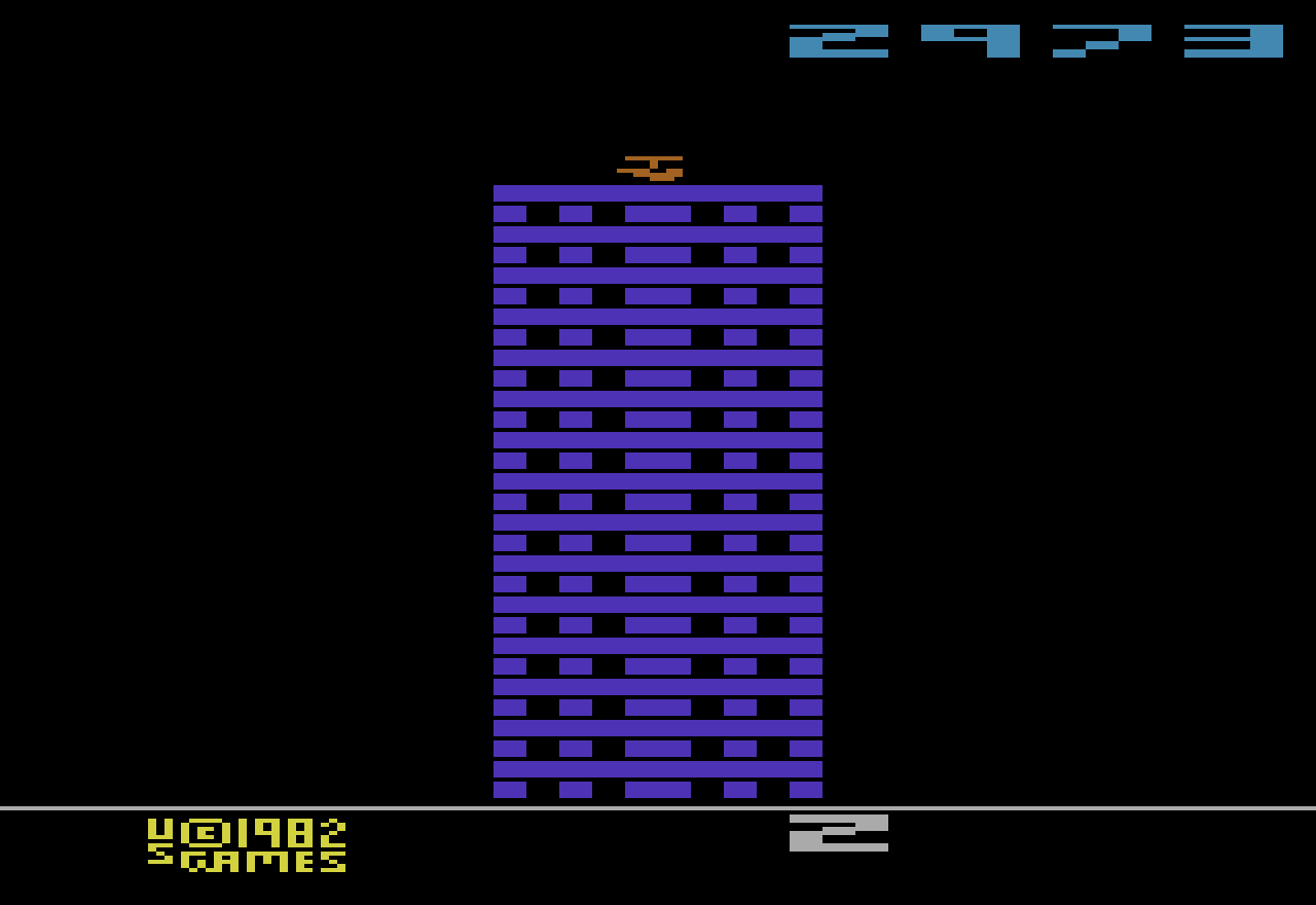 Zoyx: Towering Inferno (Atari 2600 Novice/B) 2,973 points on 2015-05-08 18:05:11