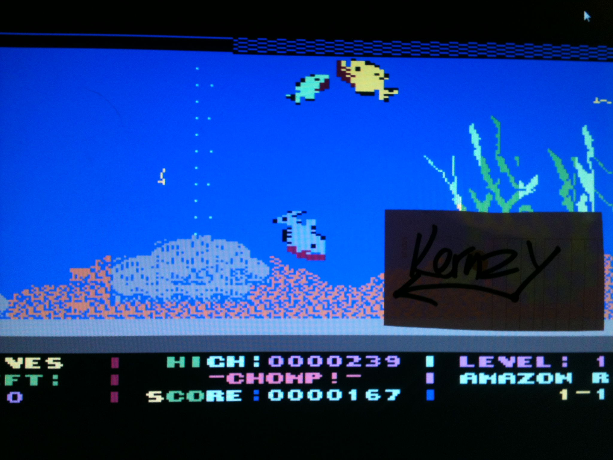 kernzy: Chomp! [Cosmi 1989] (Commodore 64 Emulated) 167 points on 2015-05-08 19:24:07