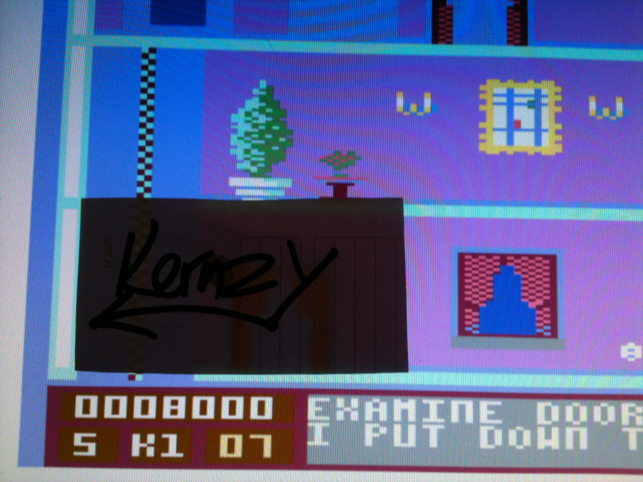 kernzy: Mission Elevator (Commodore 64 Emulated) 8,000 points on 2015-05-08 19:35:47