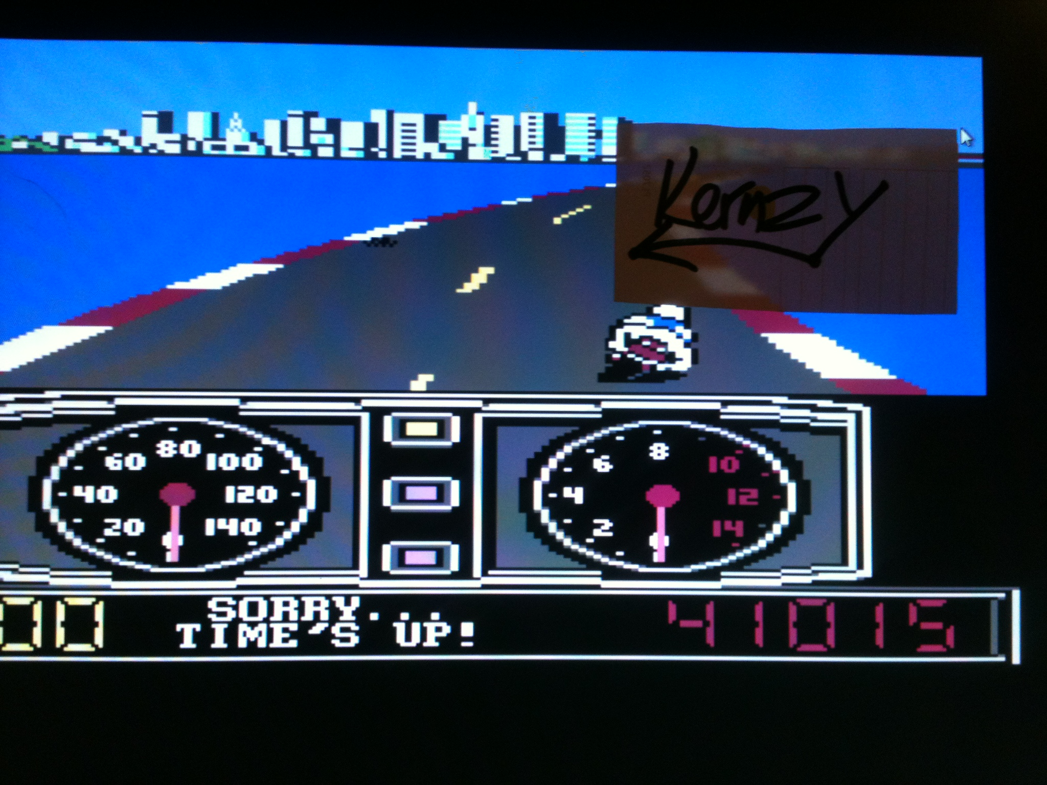 kernzy: Super Cycle (Commodore 64 Emulated) 41,015 points on 2015-05-08 19:42:57