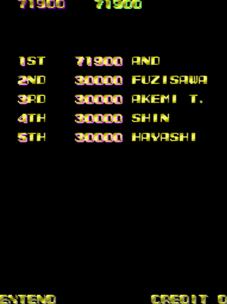 Jigg: XX Mission [xxmissio] (Arcade Emulated / M.A.M.E.) 71,900 points on 2015-05-09 08:50:53