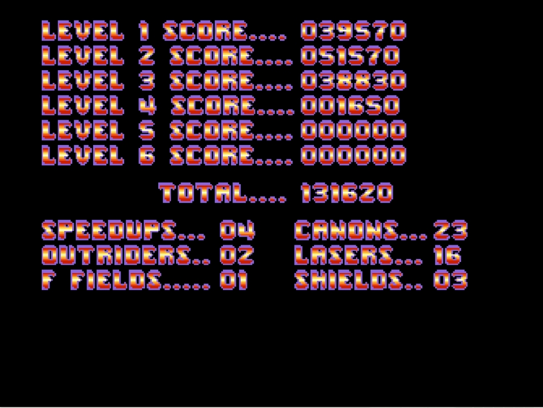 Mantalow: Menace [Rookie] (Amiga Emulated) 131,620 points on 2015-05-09 16:29:25