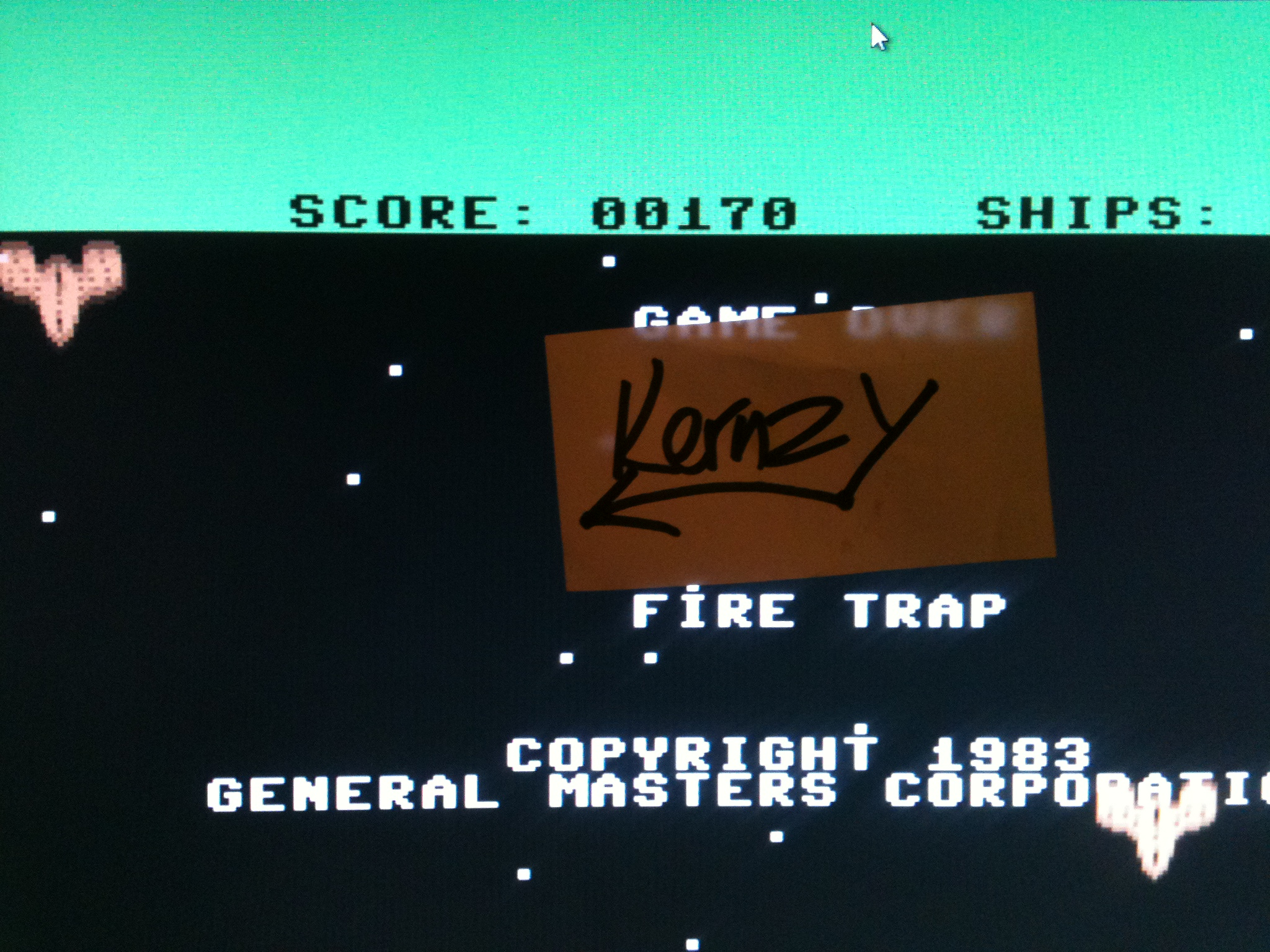 kernzy: Fire Trap (Commodore 64 Emulated) 170 points on 2015-05-10 17:59:30