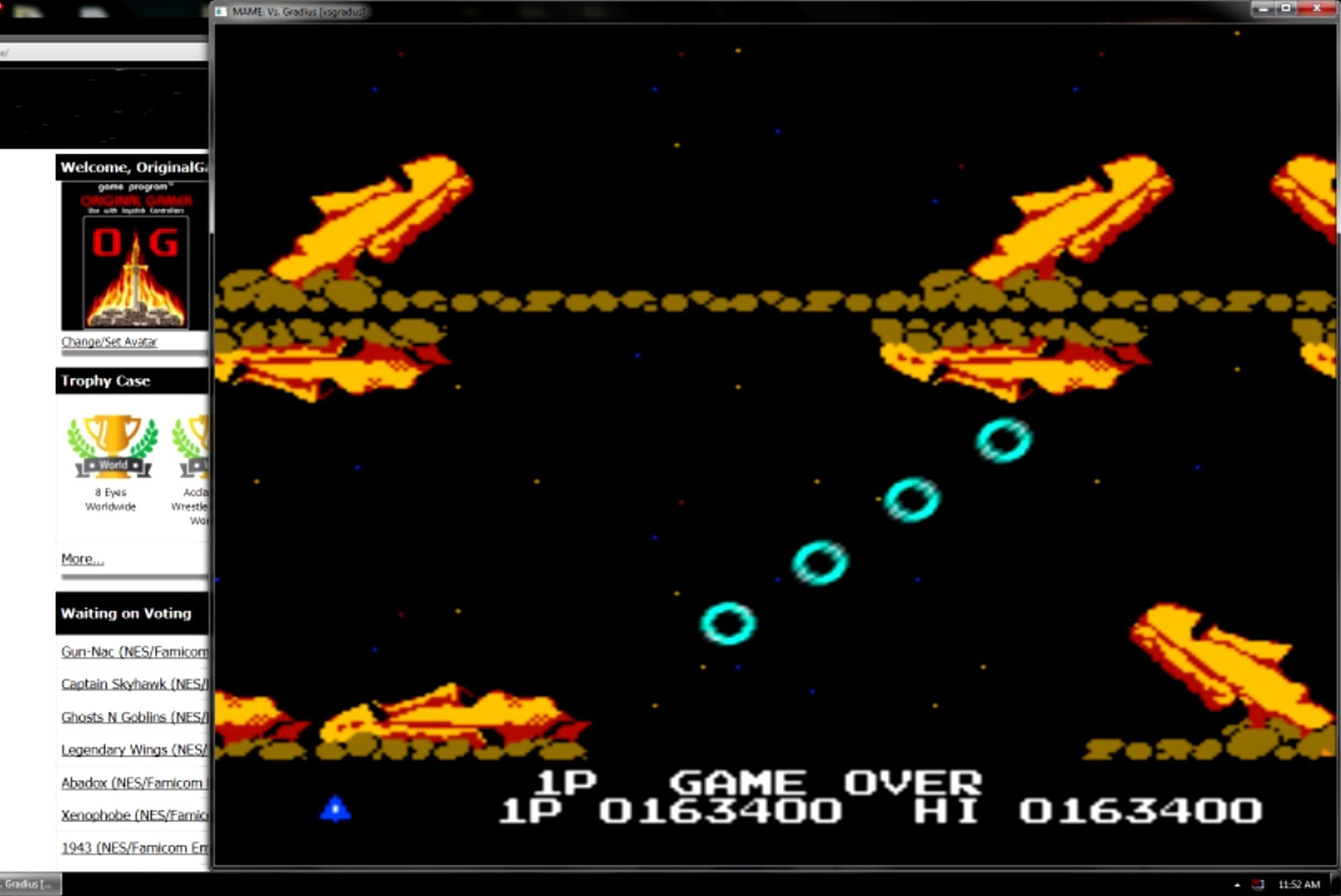 OriginalGamer: Vs. Gradius [vsgradus] (Arcade Emulated / M.A.M.E.) 163,400 points on 2015-05-11 13:21:38