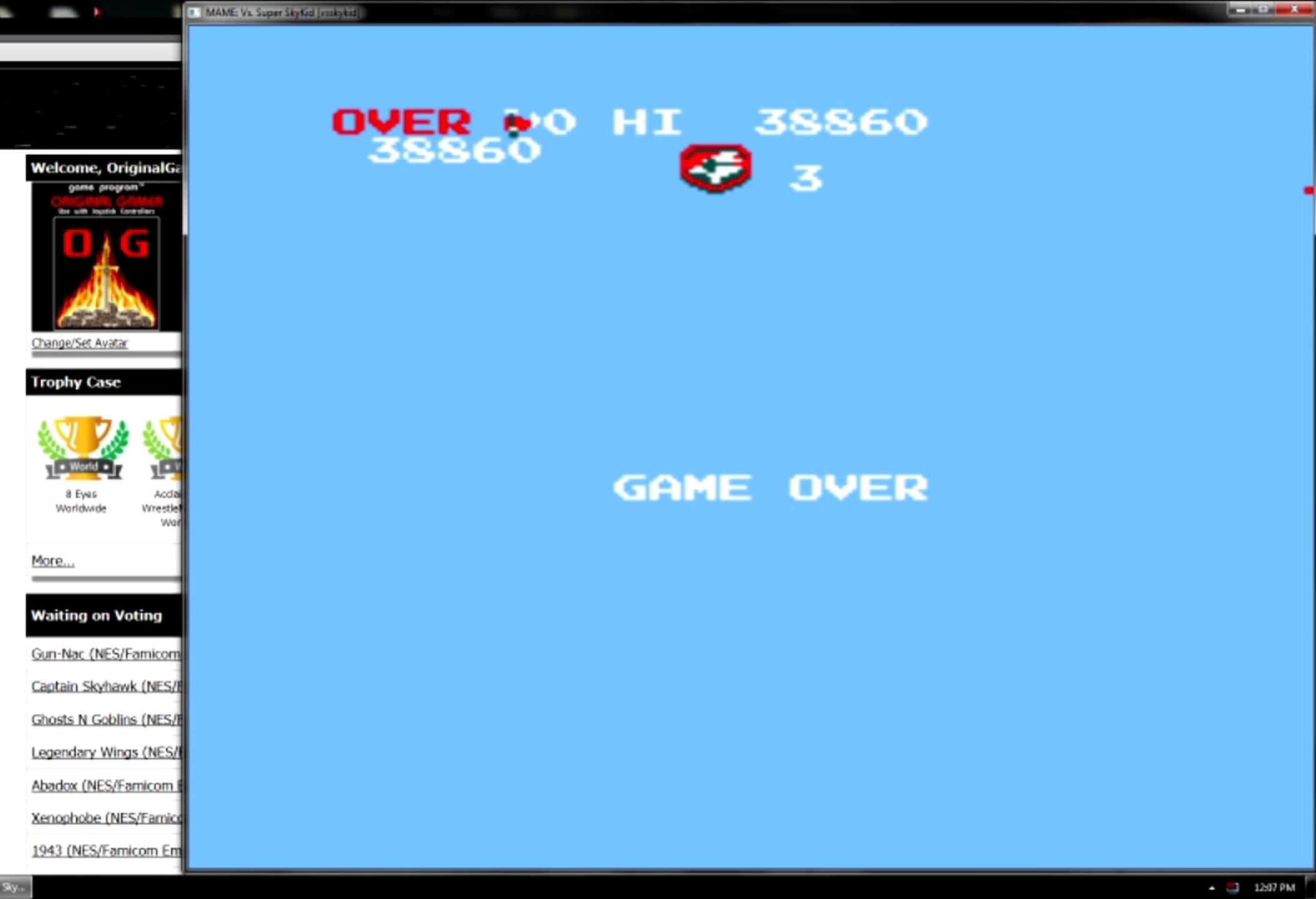 OriginalGamer: Vs. Super SkyKid [vsskykid] (Arcade Emulated / M.A.M.E.) 38,860 points on 2015-05-11 13:52:45