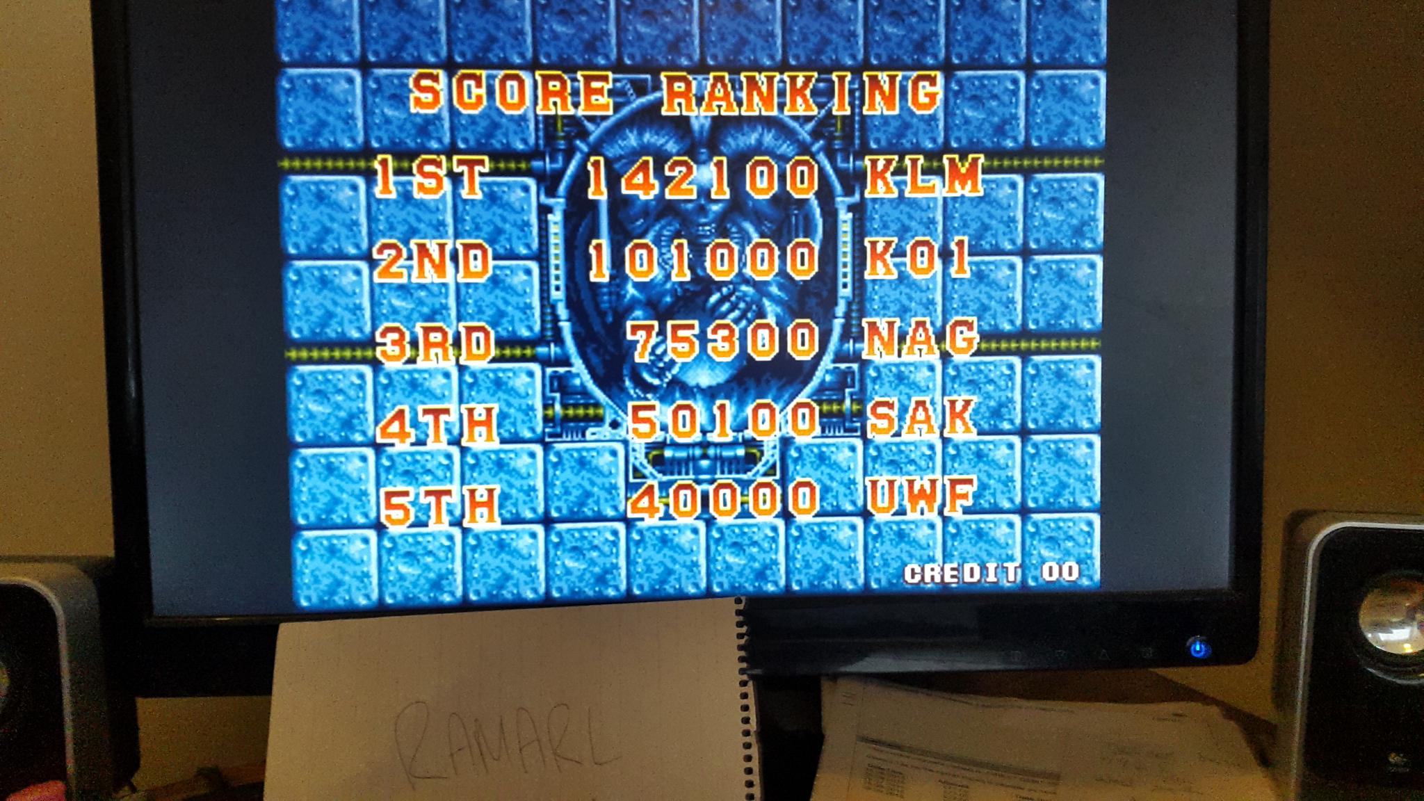 ramarl: Superior Soldiers (Arcade Emulated / M.A.M.E.) 142,100 points on 2015-05-11 14:27:55