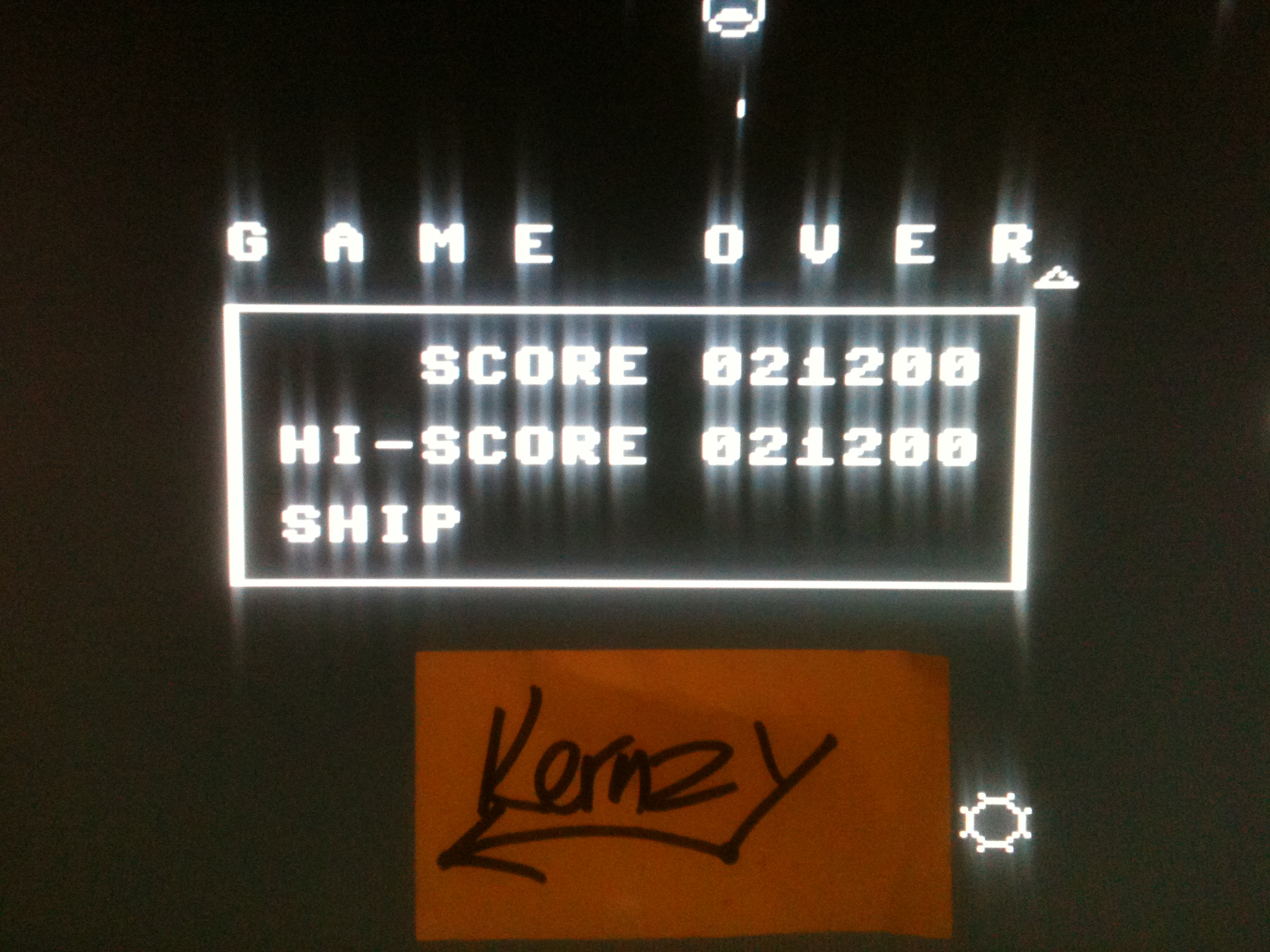 kernzy: Omega Race (Commodore 64 Emulated) 21,200 points on 2015-05-11 15:17:44