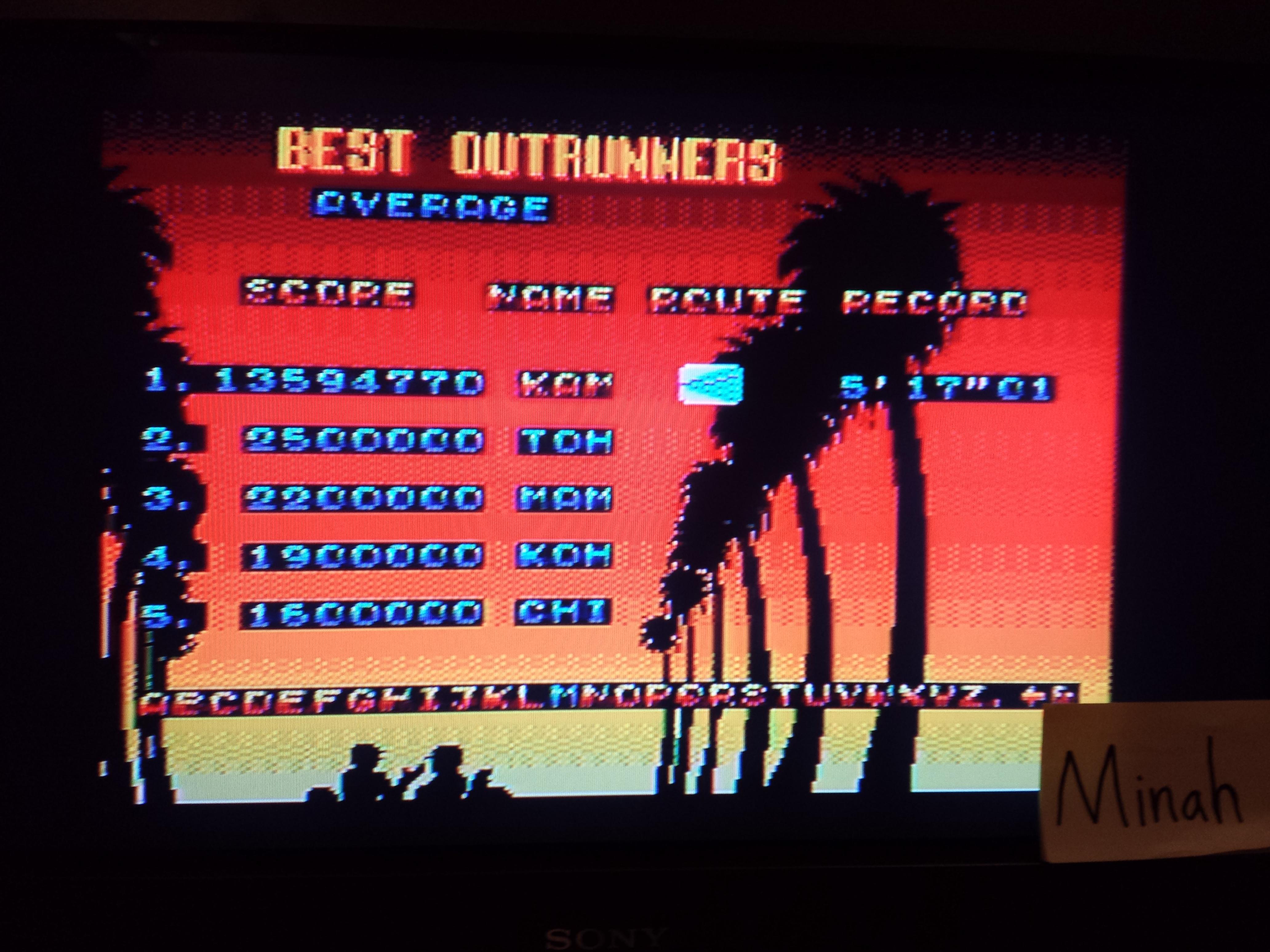 Outrun 3D 13,594,770 points