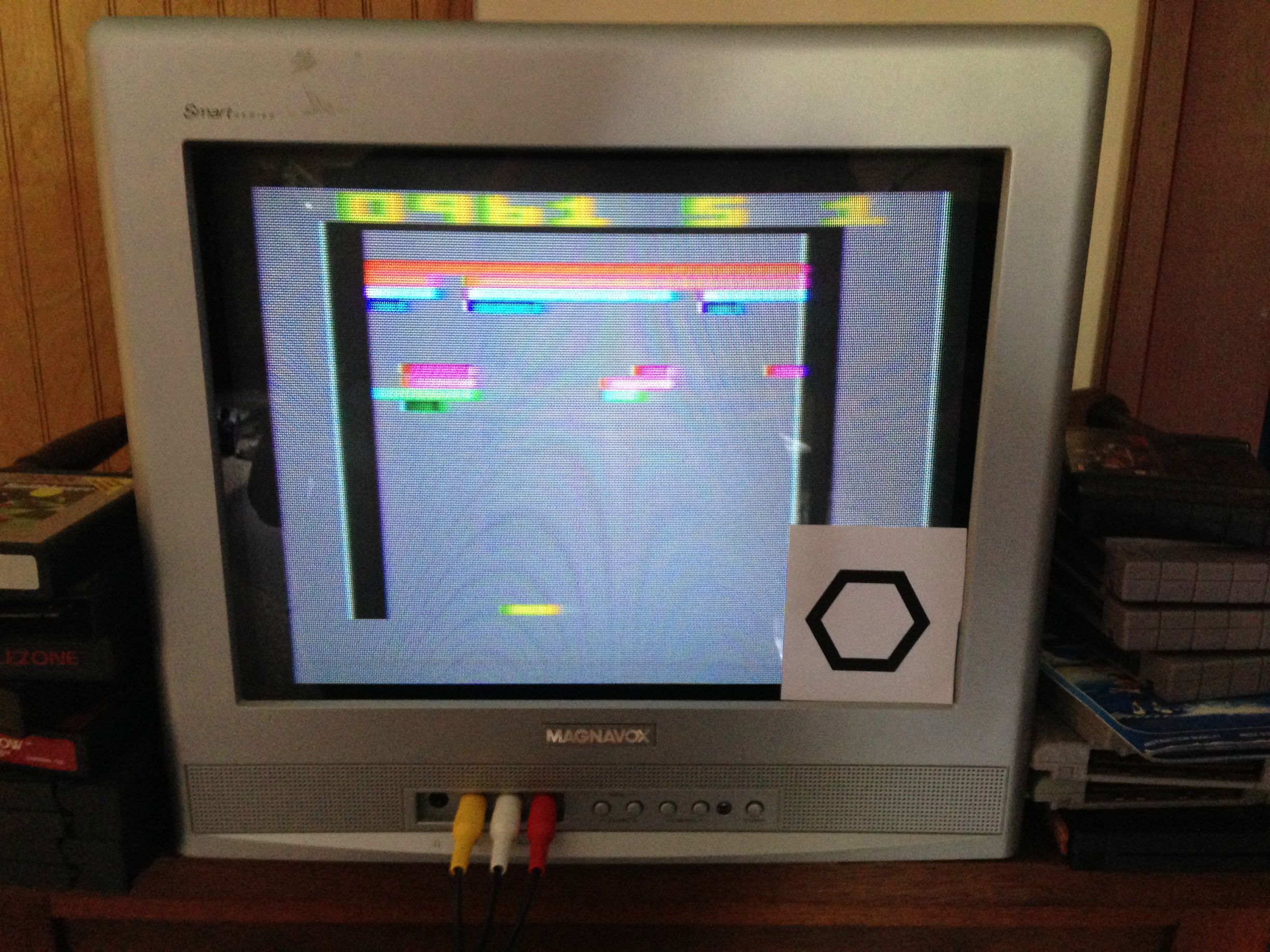 HexNash: Super Breakout: Game 7 (Atari 2600 Novice/B) 961 points on 2013-10-27 11:56:46