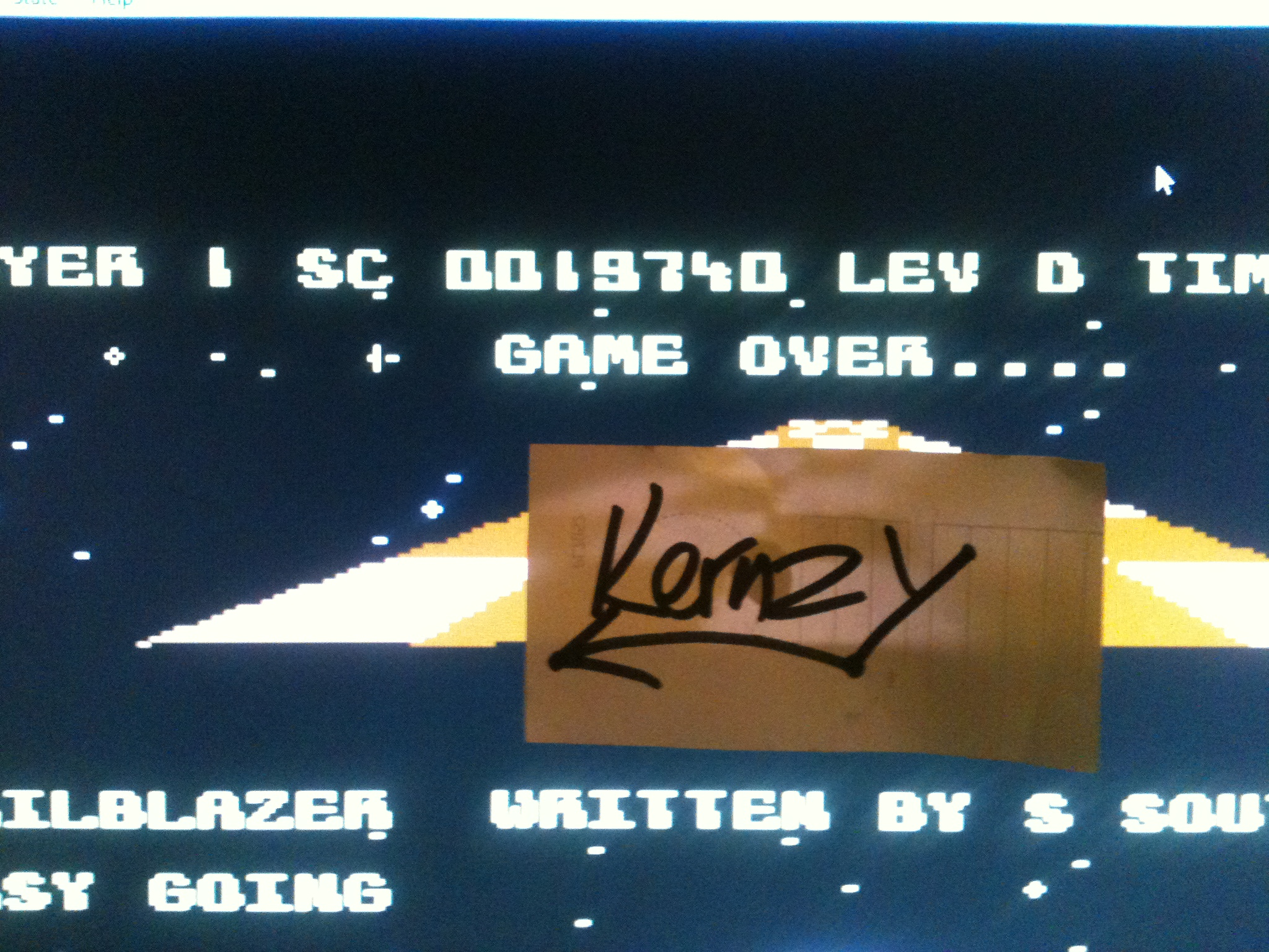 kernzy: Trailblazer (Commodore 64 Emulated) 19,740 points on 2015-05-13 19:15:59
