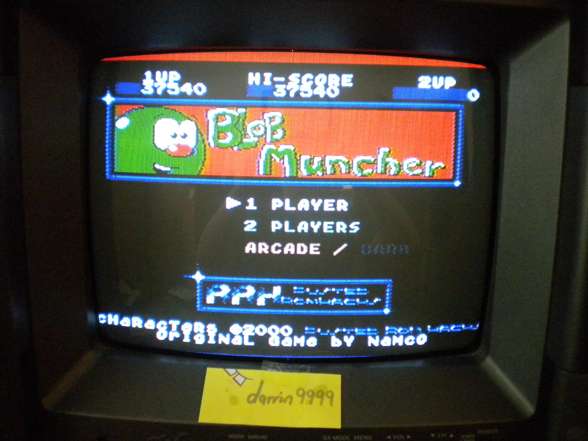 Blob Muncher: Arcade 37,540 points
