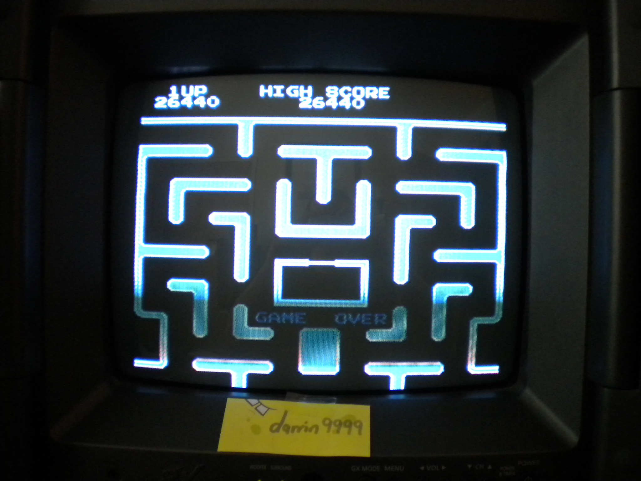 Mr. Happy Face [Off/Normal/Arcade] Level 1 Start 26,440 points