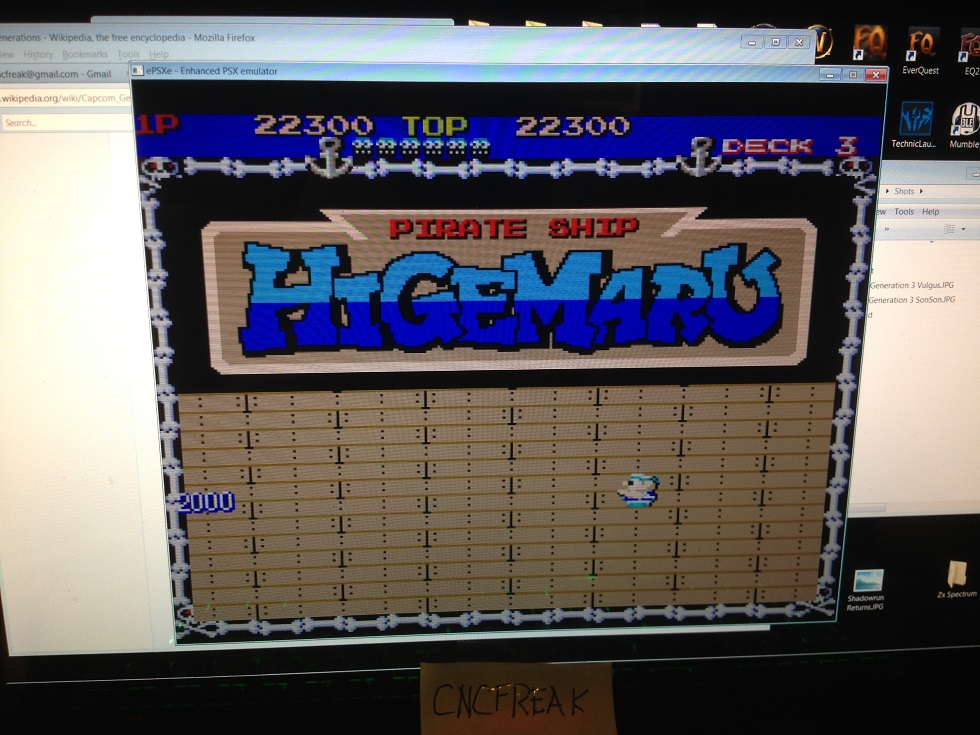 Capcom Generations 3: Pirate Ship Higemaru 22,300 points
