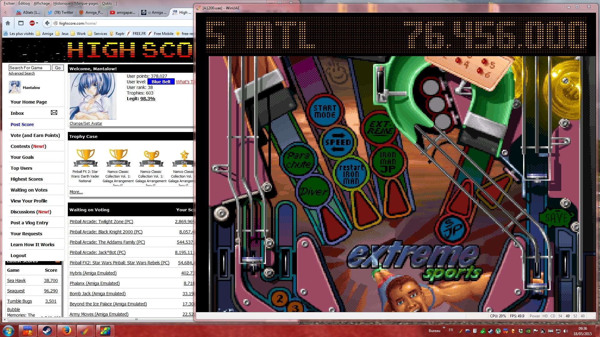 Mantalow: Pinball Illusions: Extreme Sports (Amiga Emulated) 76,456,000 points on 2015-05-18 02:39:33