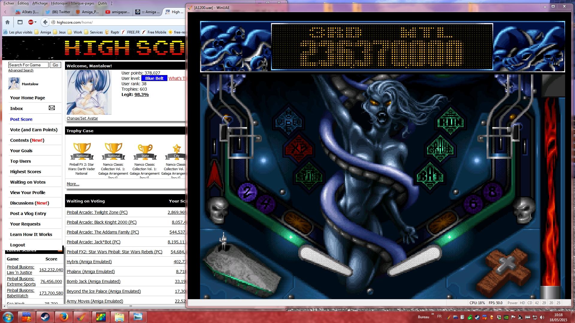 Mantalow: Slam Tilt: Night of the Demon (Amiga Emulated) 236,370,000 points on 2015-05-18 03:23:33