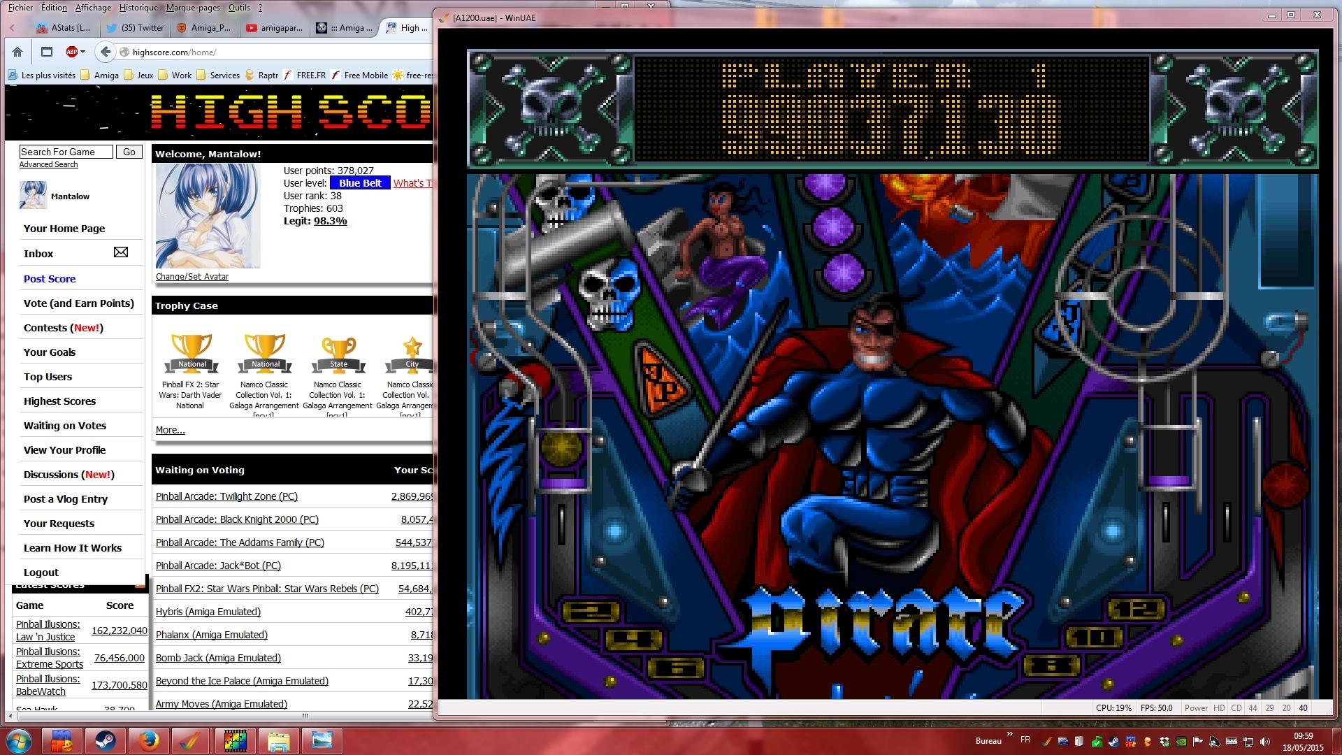 Mantalow: Slam Tilt: The Pirate (Amiga Emulated) 99,037,130 points on 2015-05-18 03:24:40