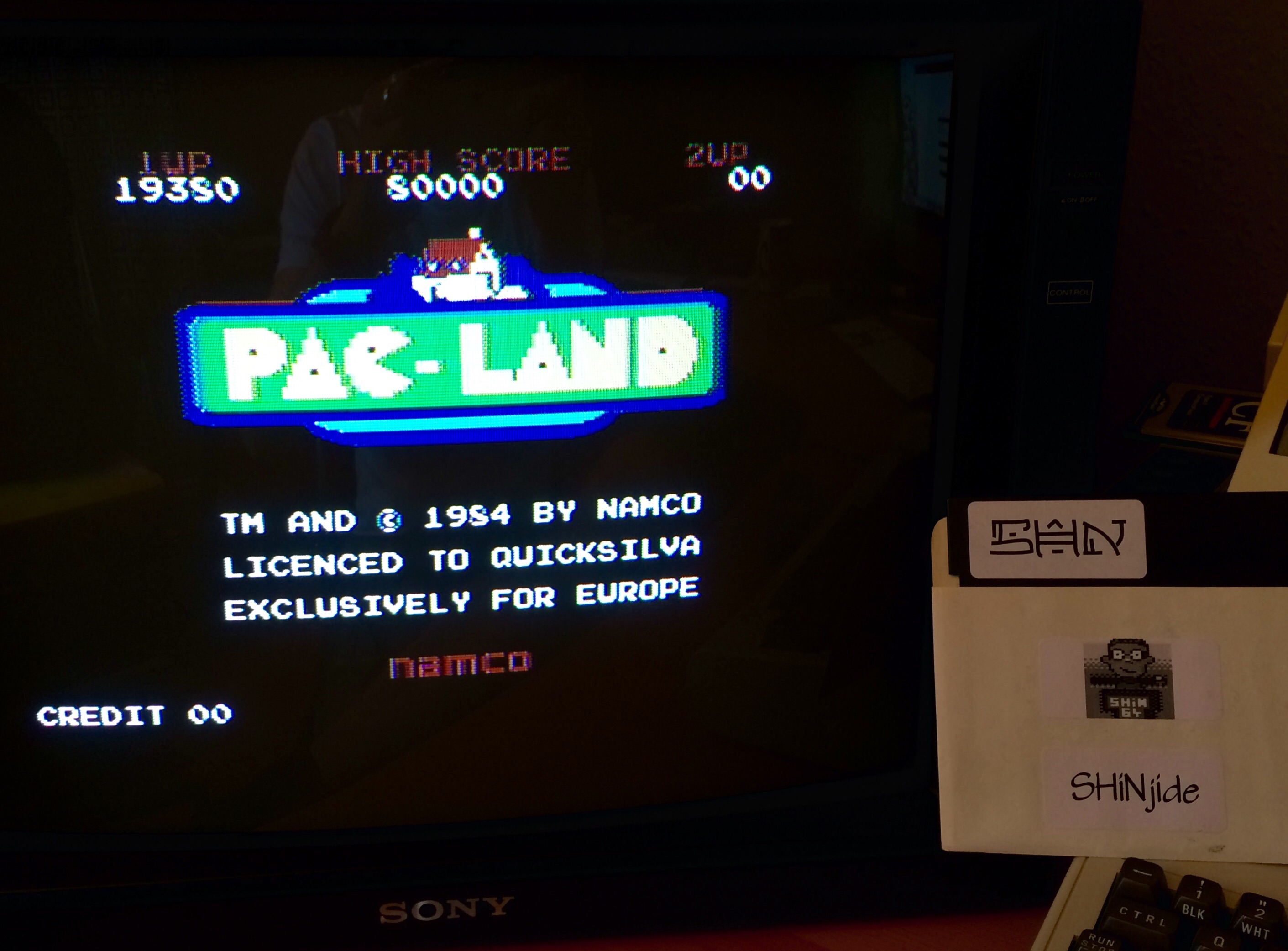 SHiNjide: Pac-Land (Commodore 64) 19,380 points on 2015-05-19 12:30:26