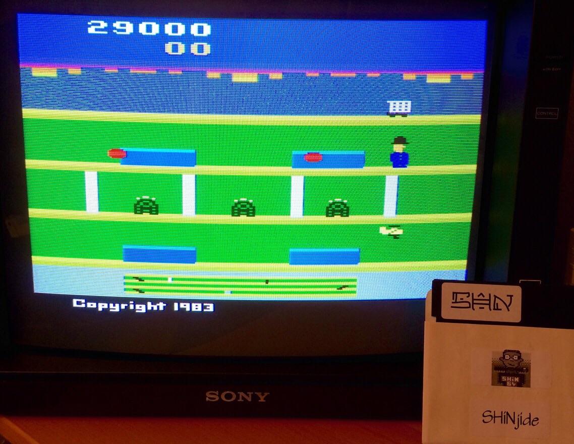 SHiNjide: Keystone Kapers (Atari 2600 Emulated Novice/B Mode) 29,000 points on 2015-05-19 13:27:52