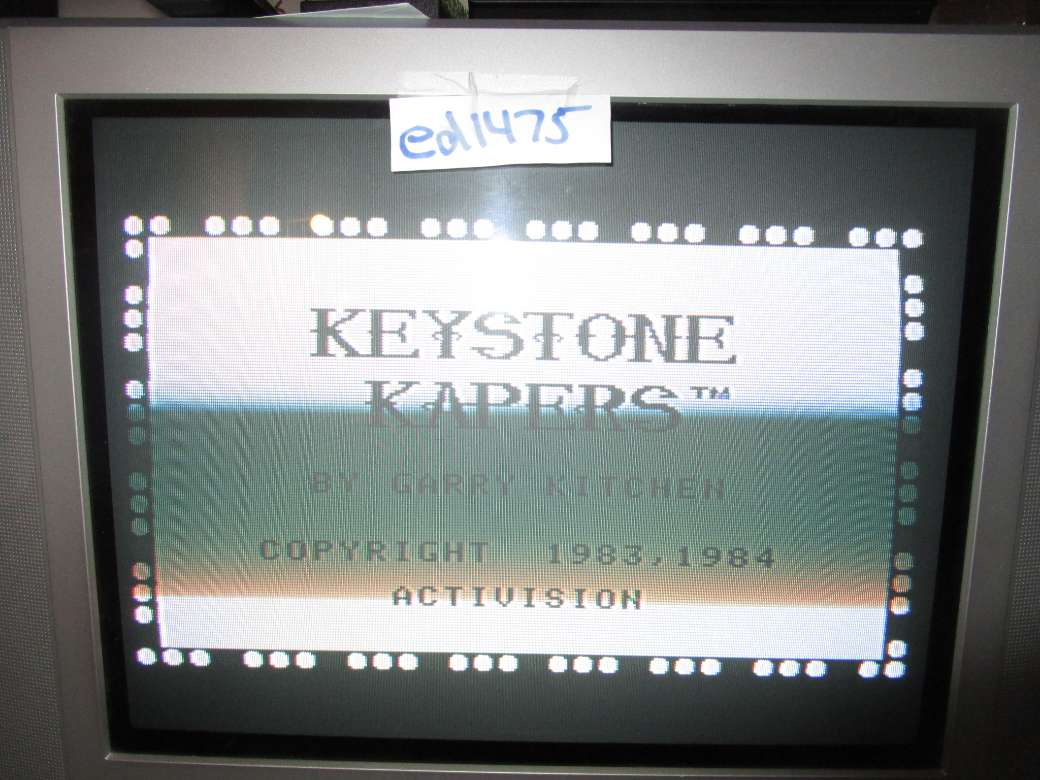 ed1475: Keystone Kapers (Colecovision) 6,350 points on 2015-05-21 21:49:47