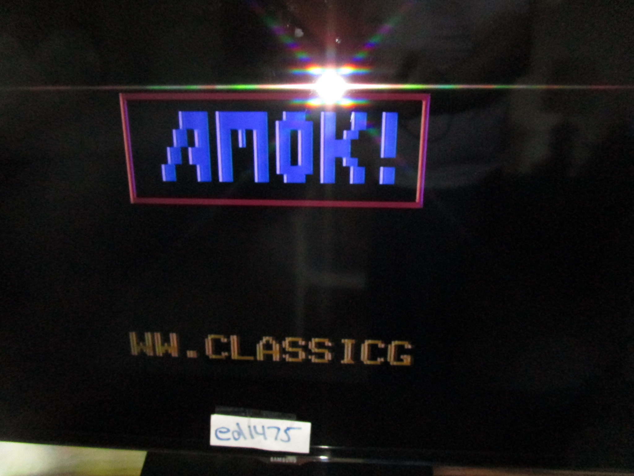 ed1475: Amok (Odyssey 2 / Videopac) 940 points on 2015-05-21 21:57:13