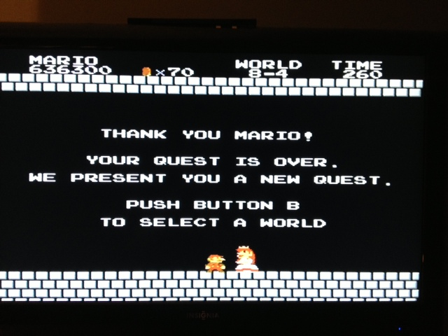 odnarb1986: Super Mario Bros. (NES/Famicom) 636,300 points on 2013-09-13 23:31:53
