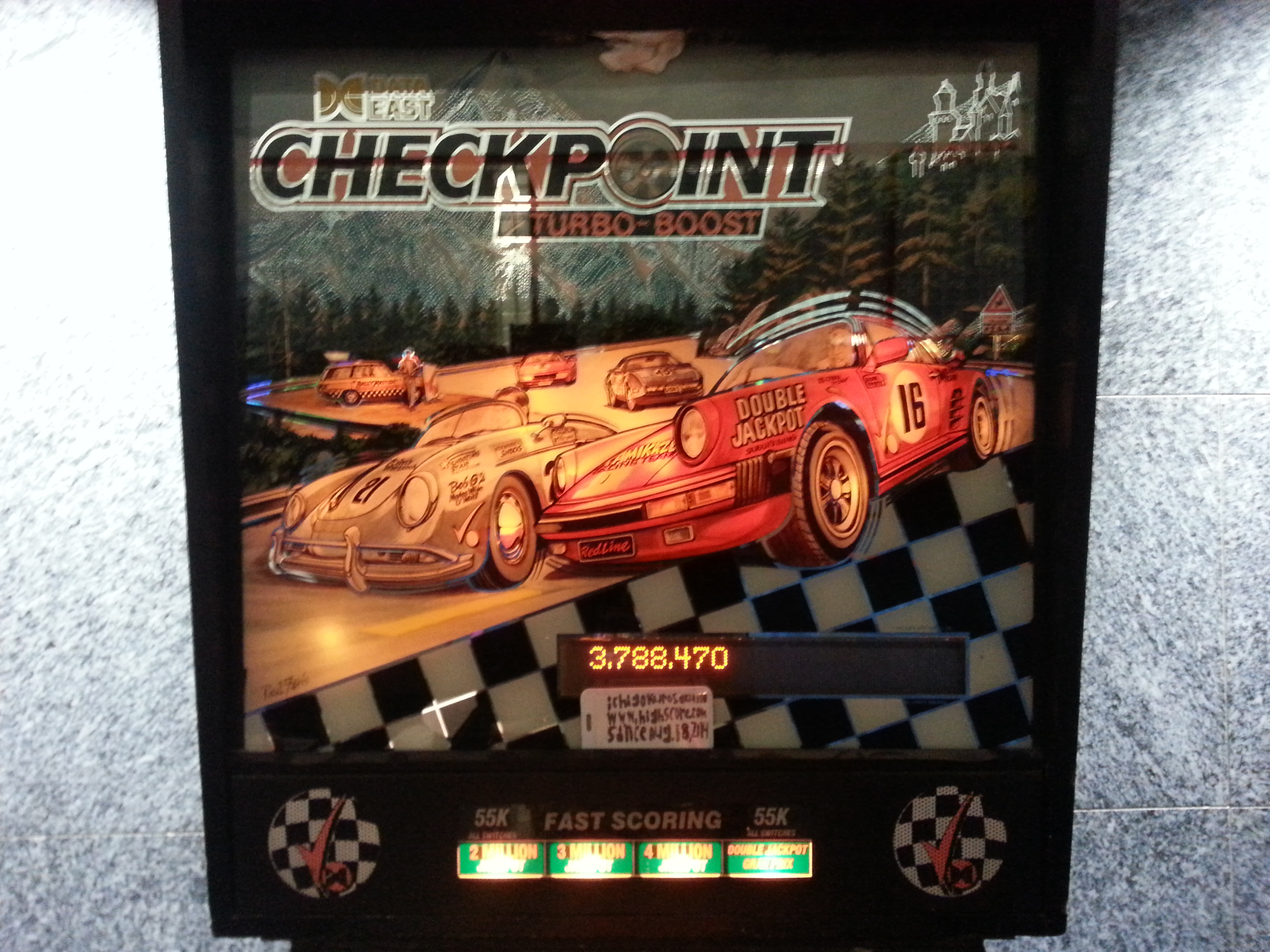 Checkpoint 3,788,470 points