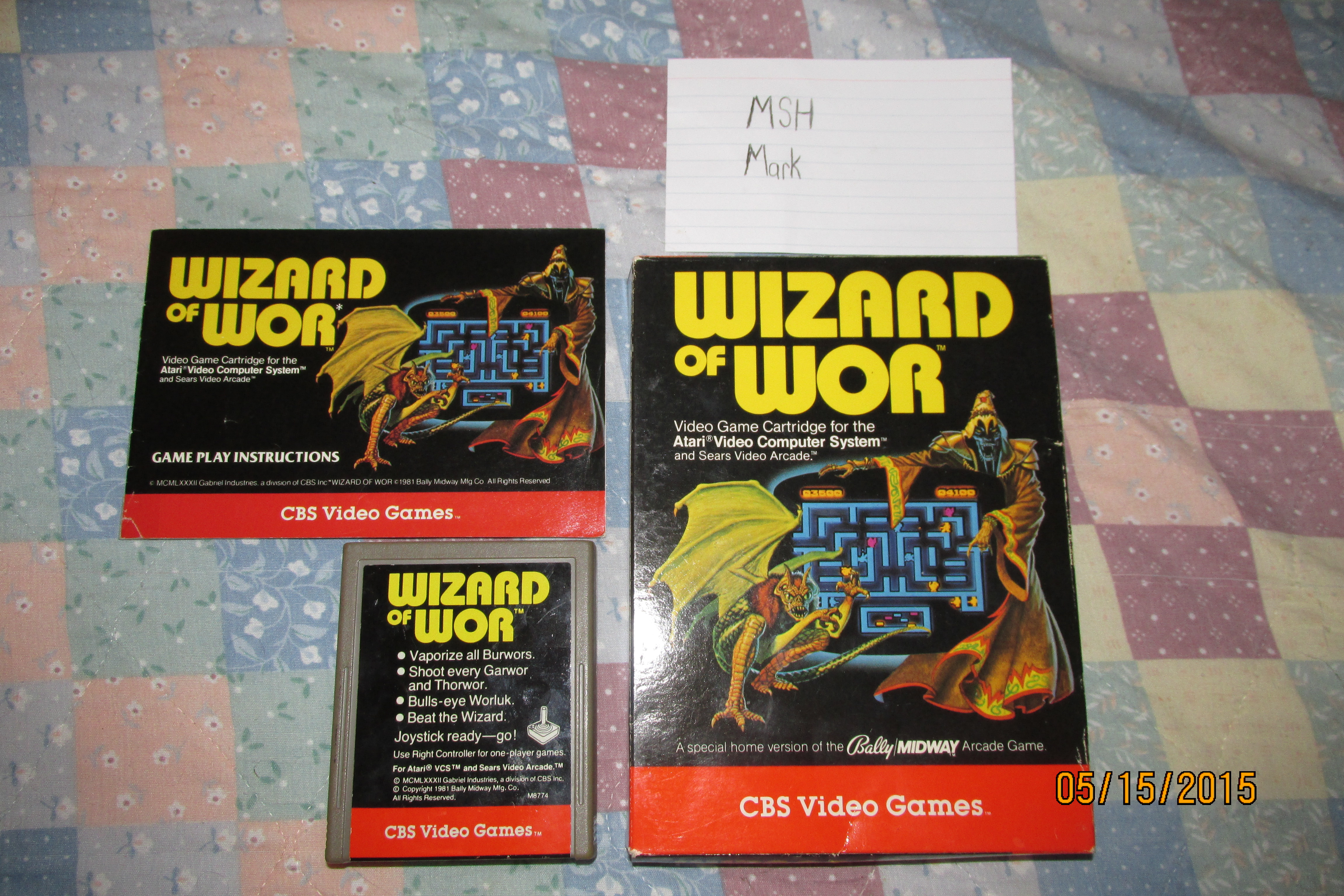 Wizard of Wor 20,700 points