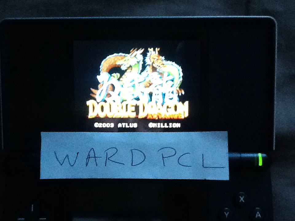 Wardpcl: Double Dragon Advance (GBA) 381,800 points on 2015-05-23 08:42:54