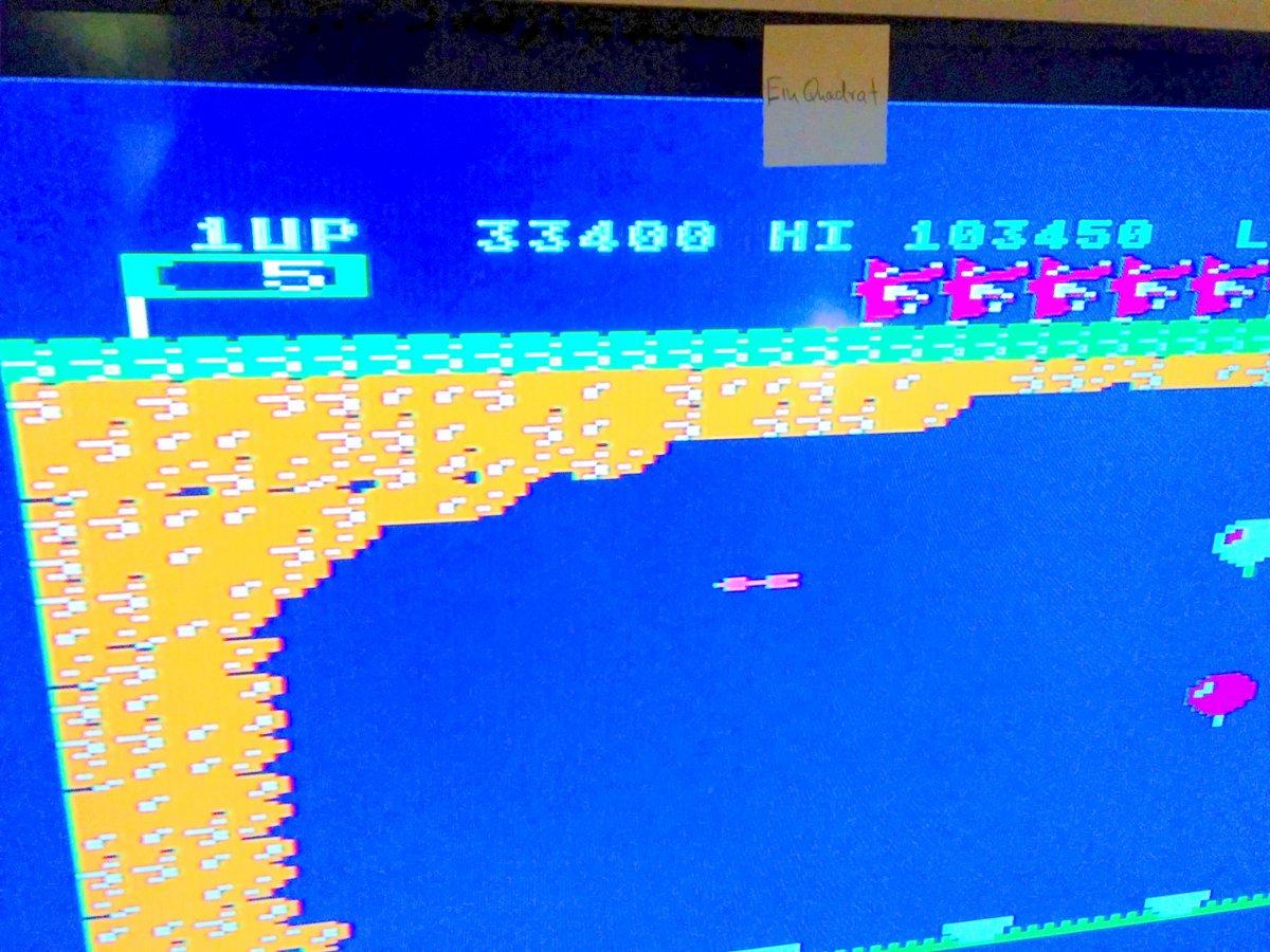einquadrat: Pooyan (Atari 400/800/XL/XE) 33,400 points on 2015-05-24 13:47:29