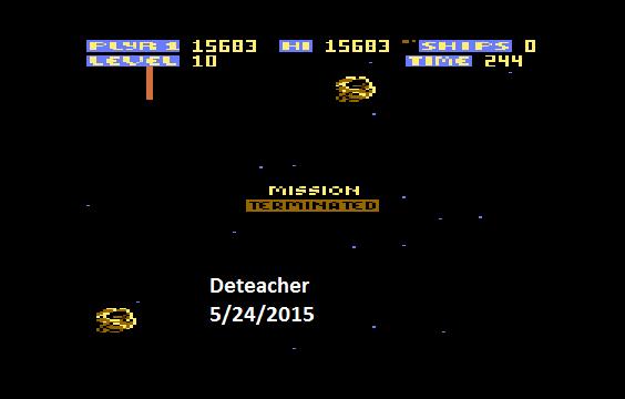 Deteacher: Zone Ranger (Atari 400/800/XL/XE Emulated) 15,683 points on 2015-05-24 17:30:19
