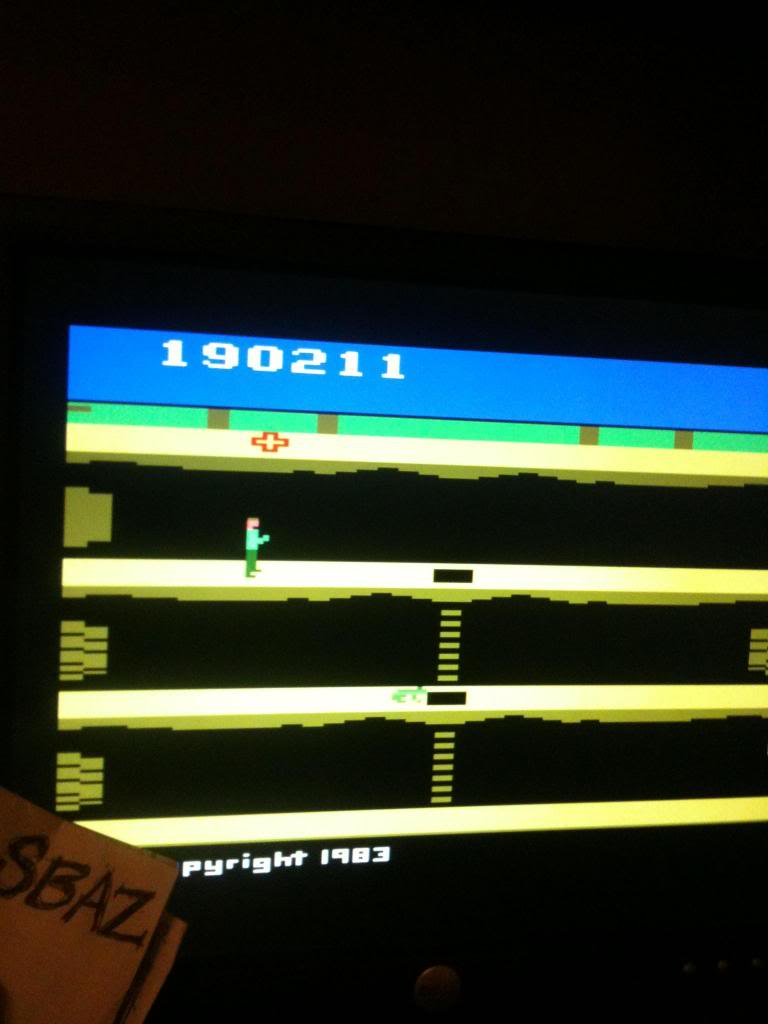 Pitfall II: Lost Caverns 190,211 points
