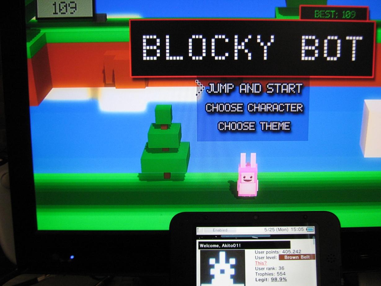 Blocky Bot 109 points