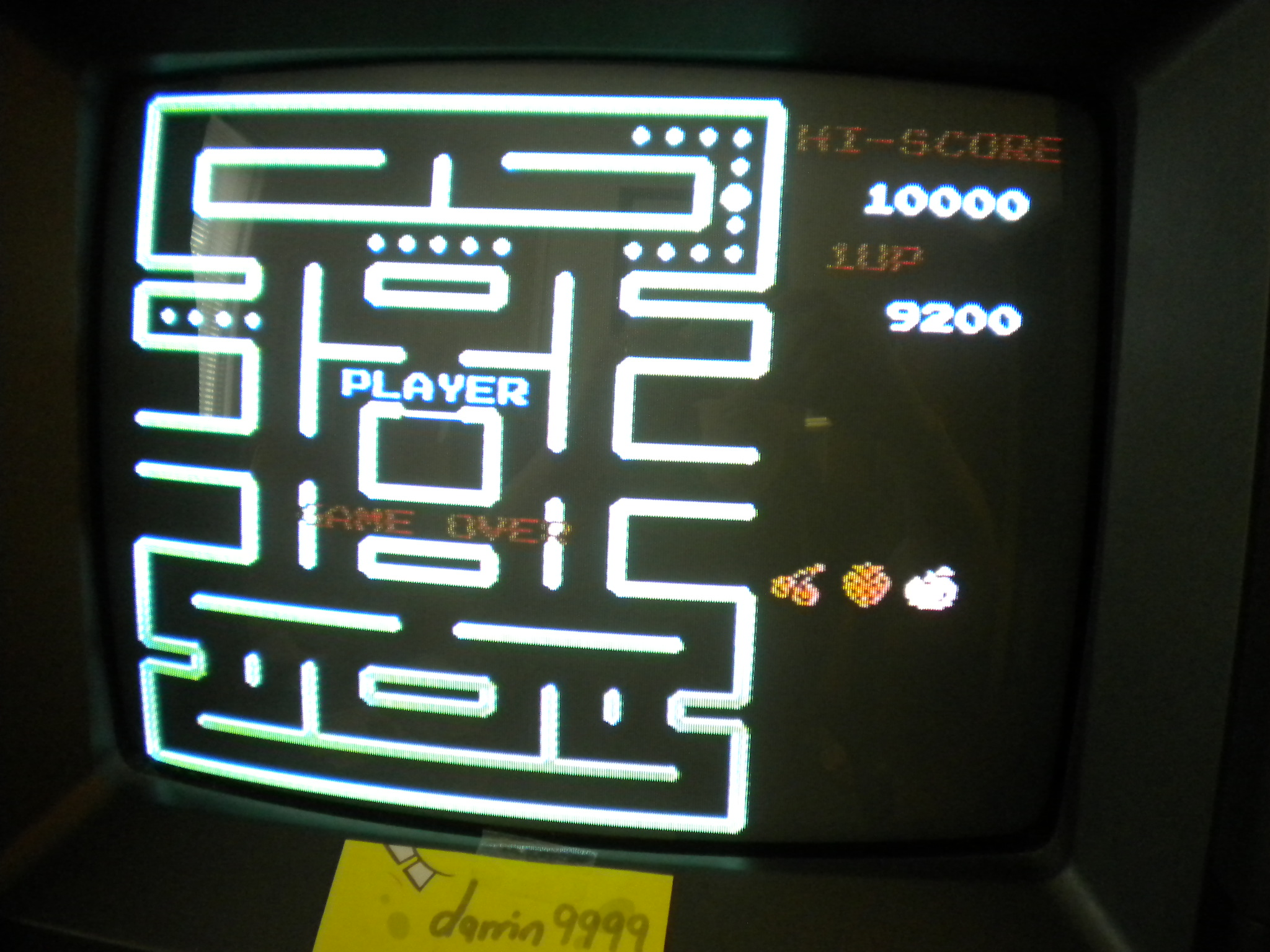 Pac-Man Remix 9,200 points
