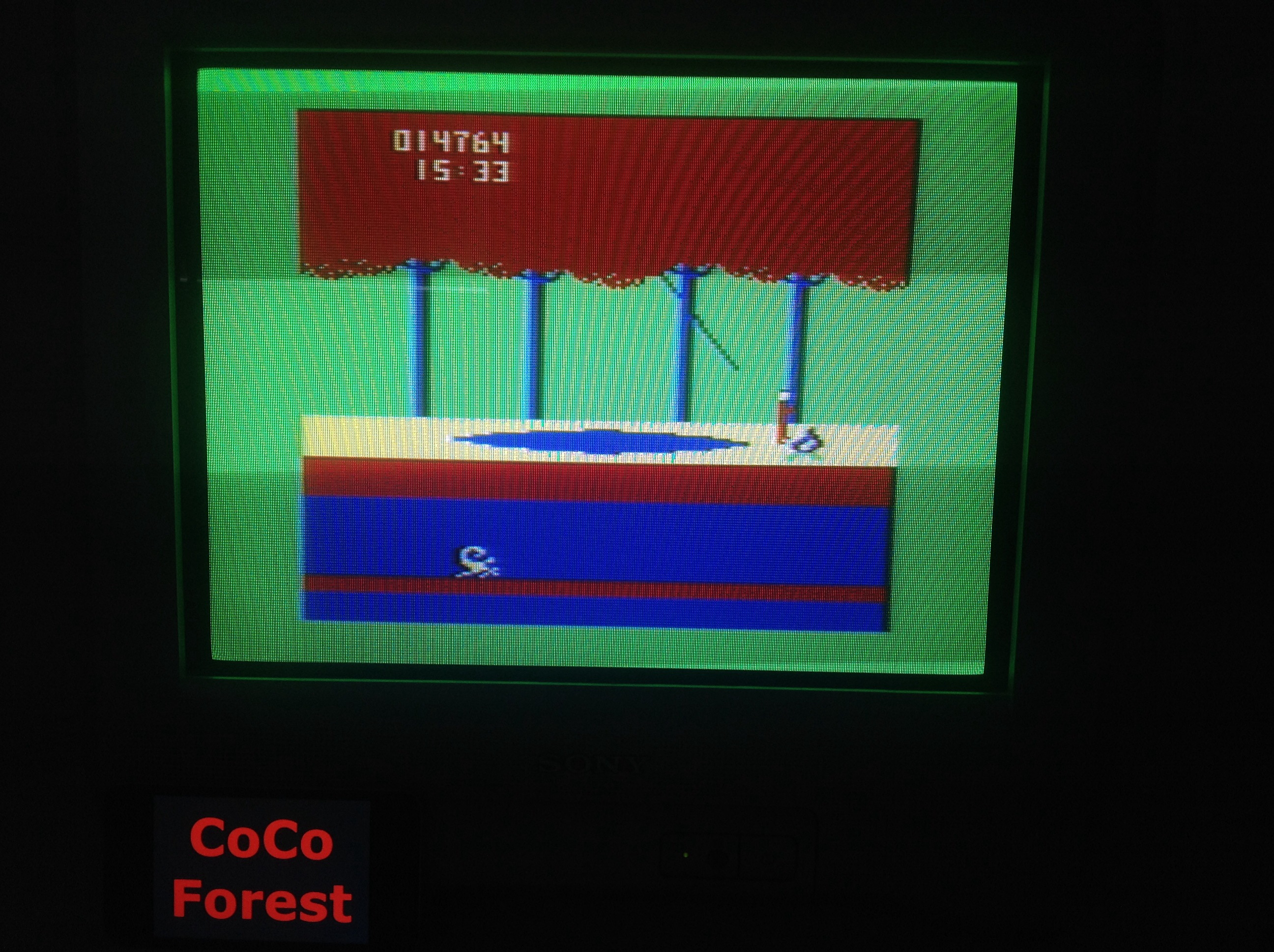 CoCoForest: Cuthbert In The Jungle (Dragon 32/64) 14,764 points on 2015-05-26 11:27:05