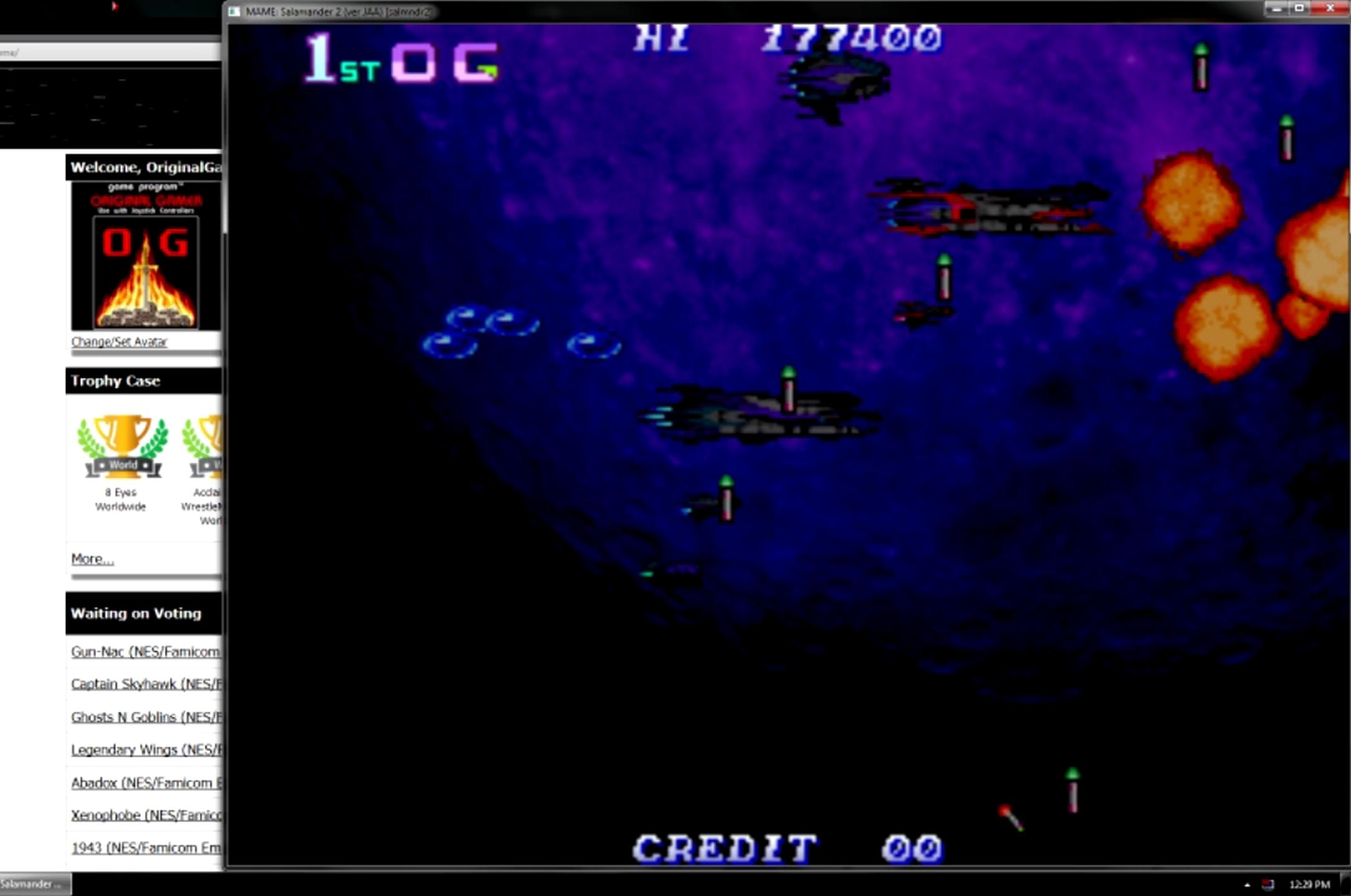 OriginalGamer: Salamander 2 [salmndr2] (Arcade Emulated / M.A.M.E.) 177,400 points on 2015-05-27 20:27:46