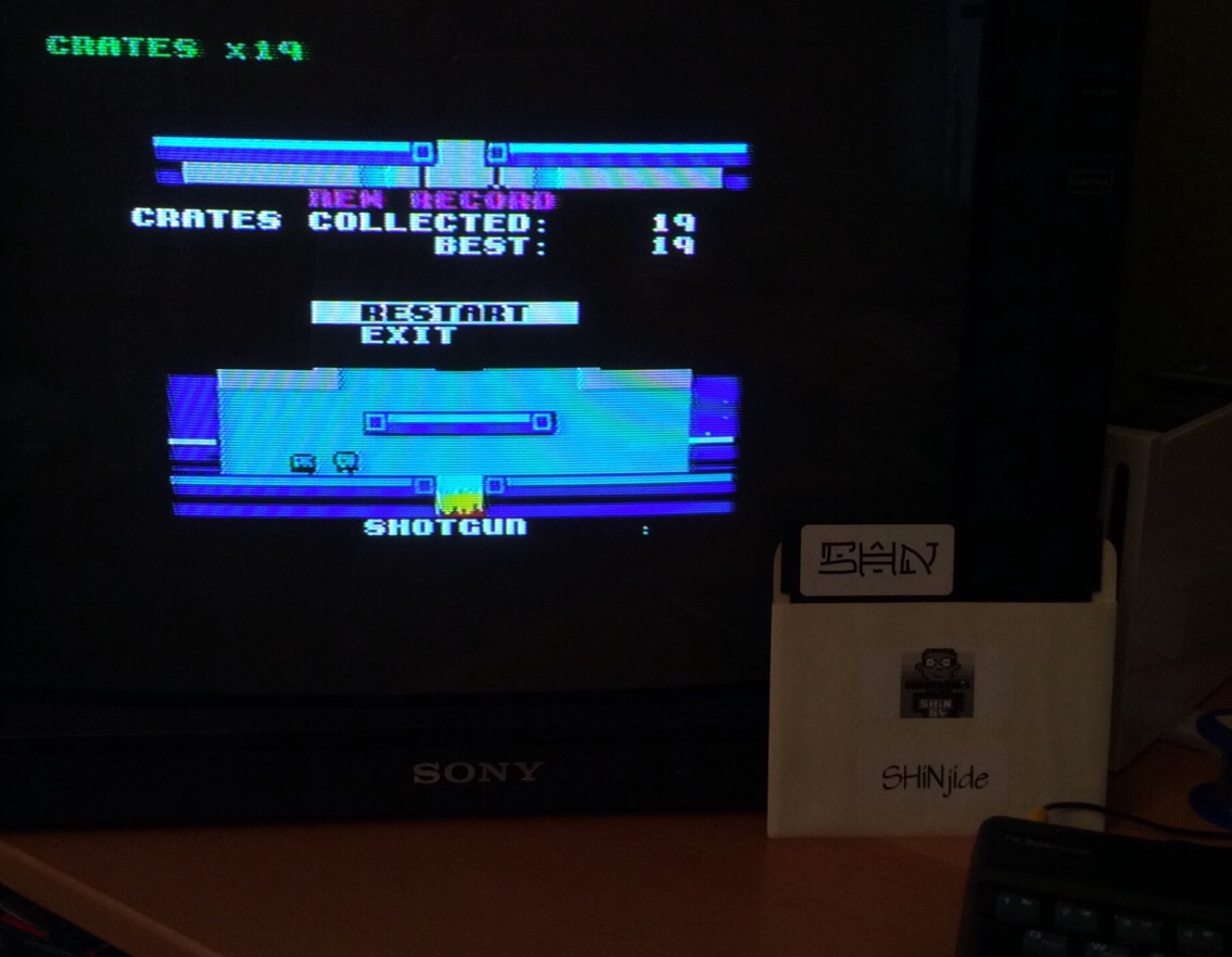 SHiNjide: Super 48k Box [Area 2] (ZX Spectrum) 19 points on 2015-05-30 16:34:18
